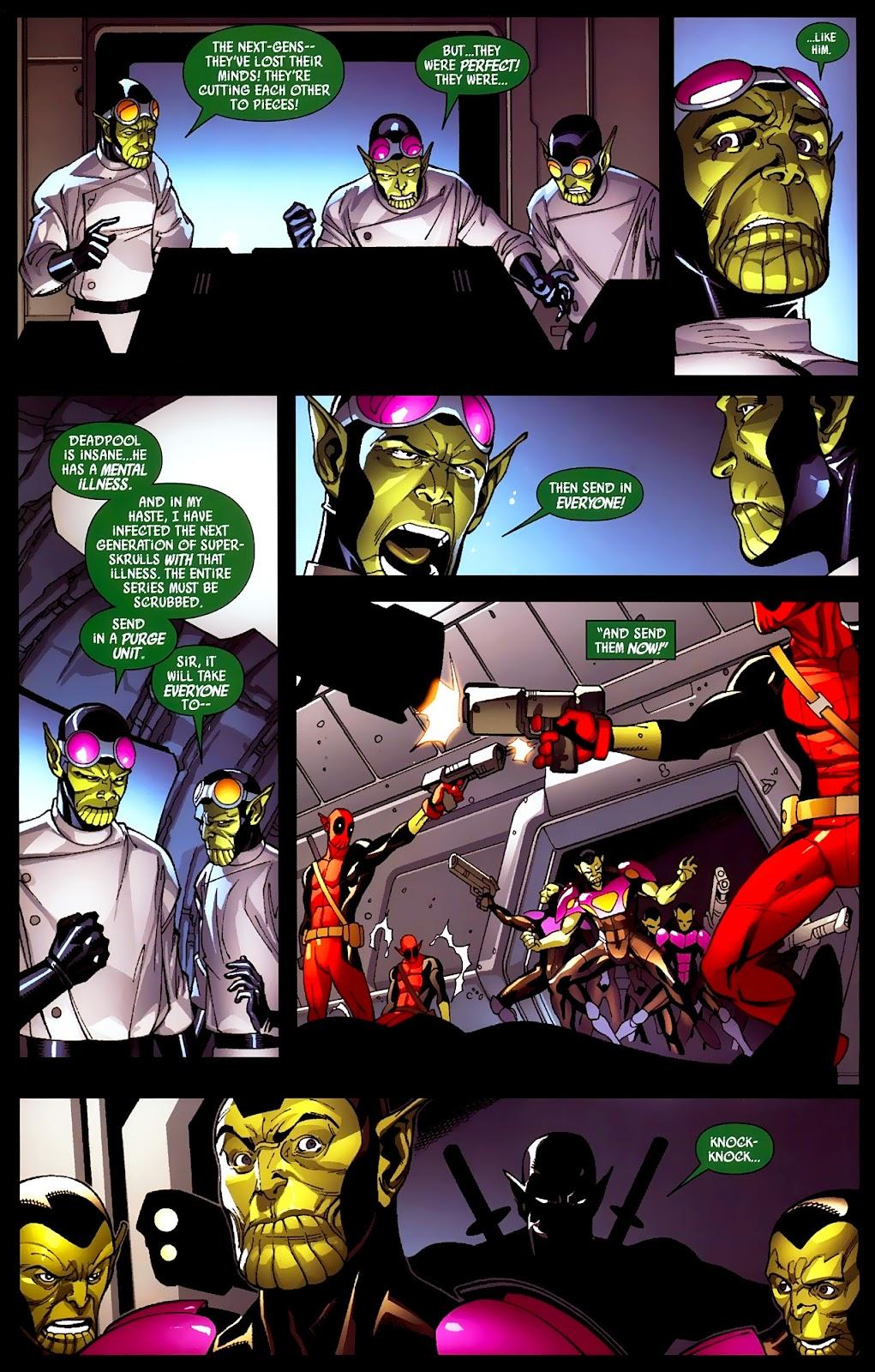 Read online Deadpool (2008) comic -  Issue #2 - 21