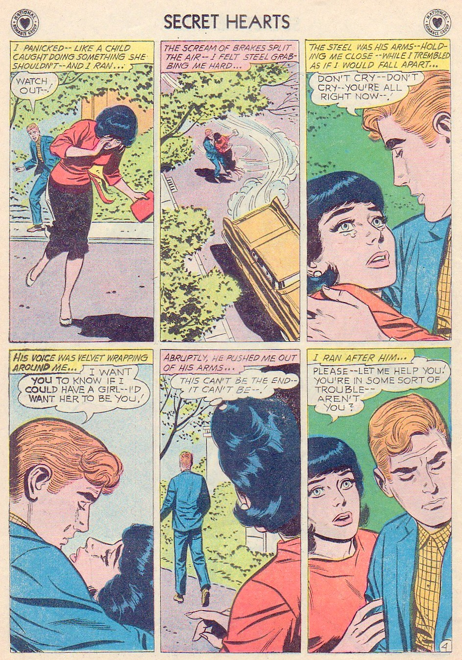 Read online Secret Hearts comic -  Issue #72 - 6