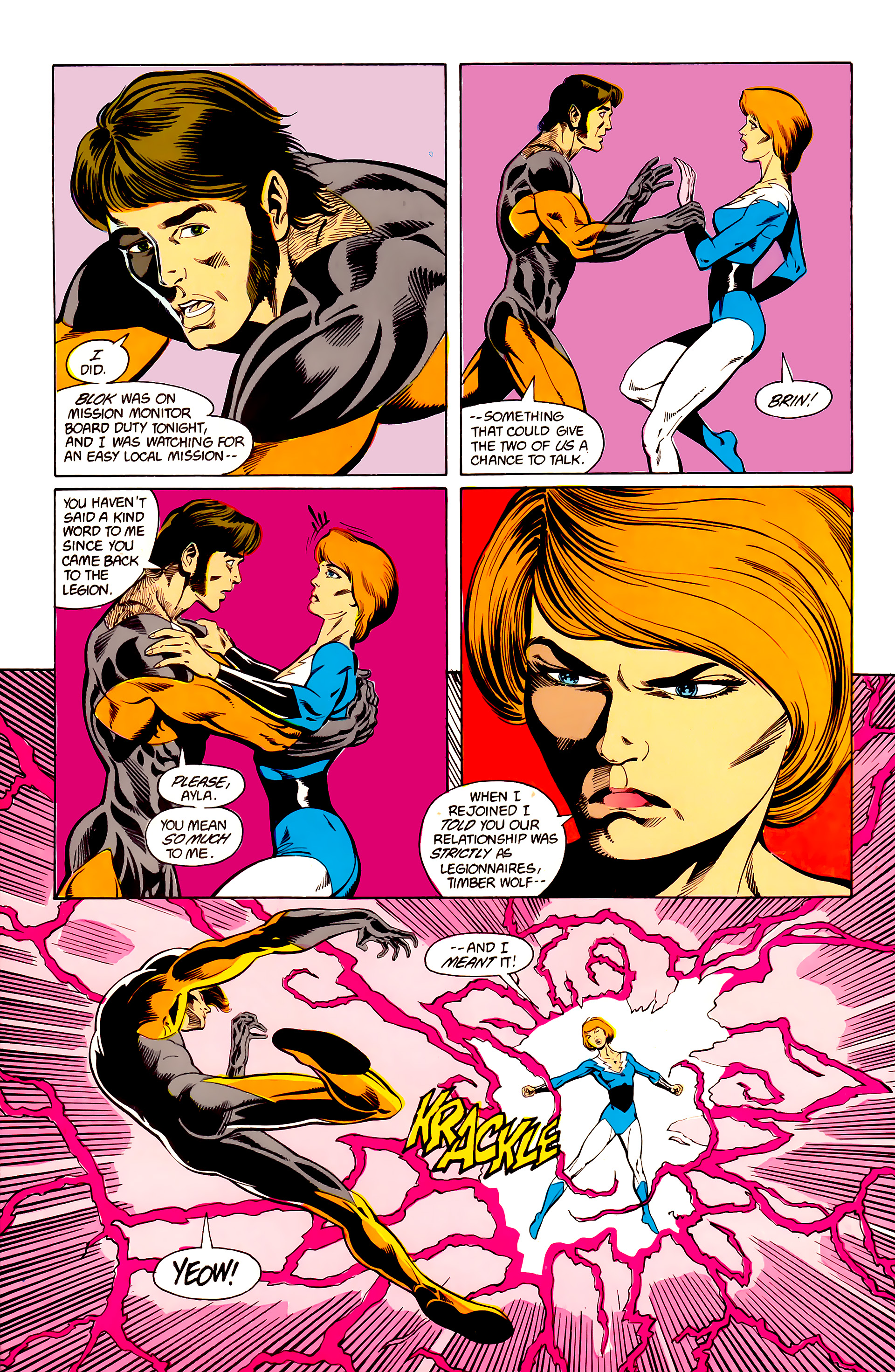 Legion of Super-Heroes (1984) 24 Page 27