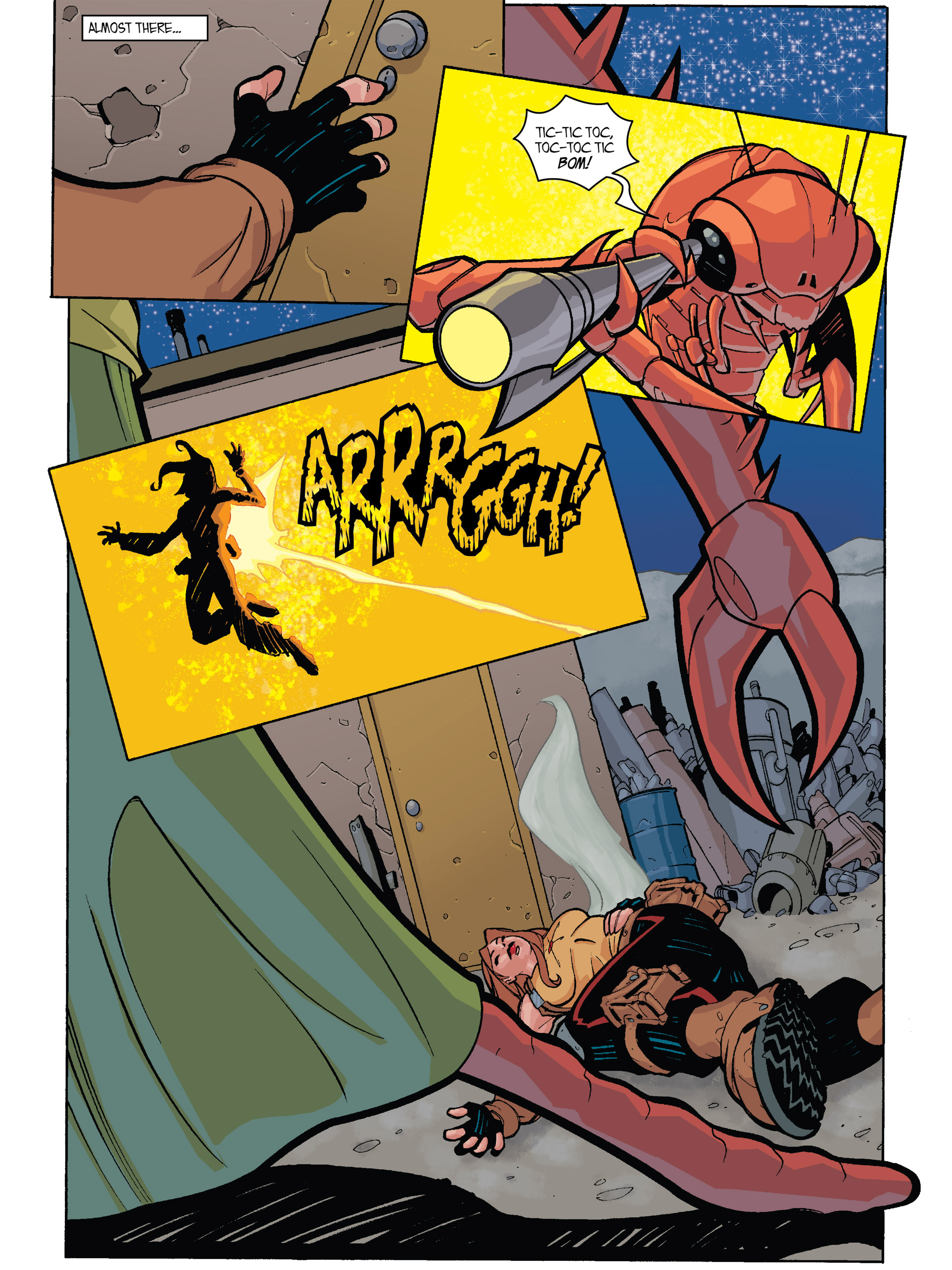Read online Amber Atoms comic -  Issue #1 - 23
