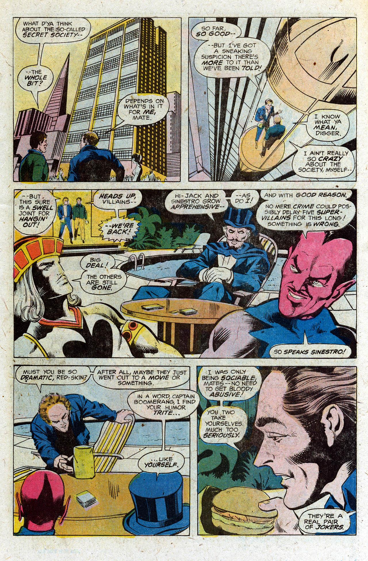 Read online Secret Society of Super-Villains comic -  Issue #3 - 14