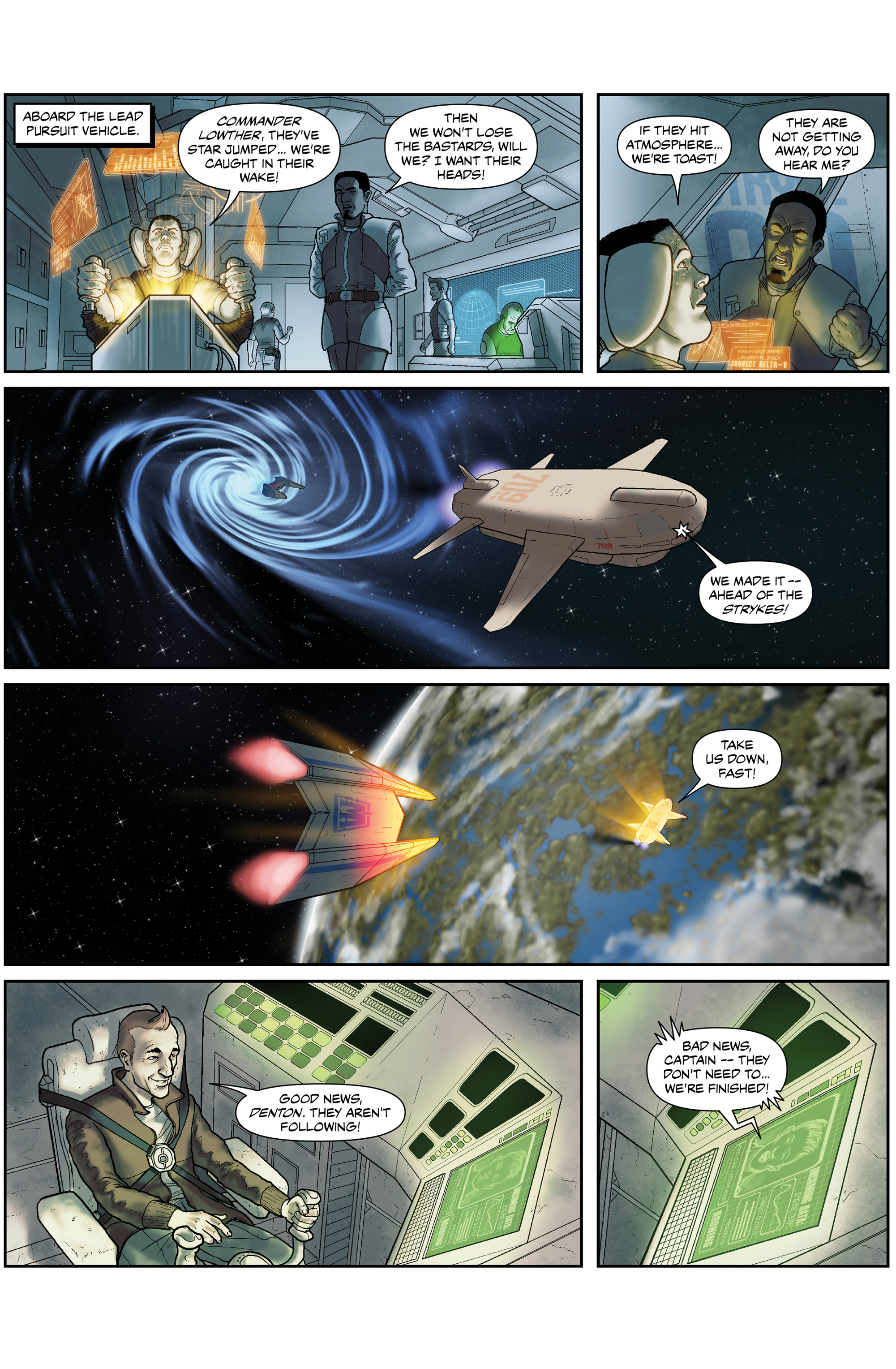 Read online 100% Biodegradable comic -  Issue #15 - 16