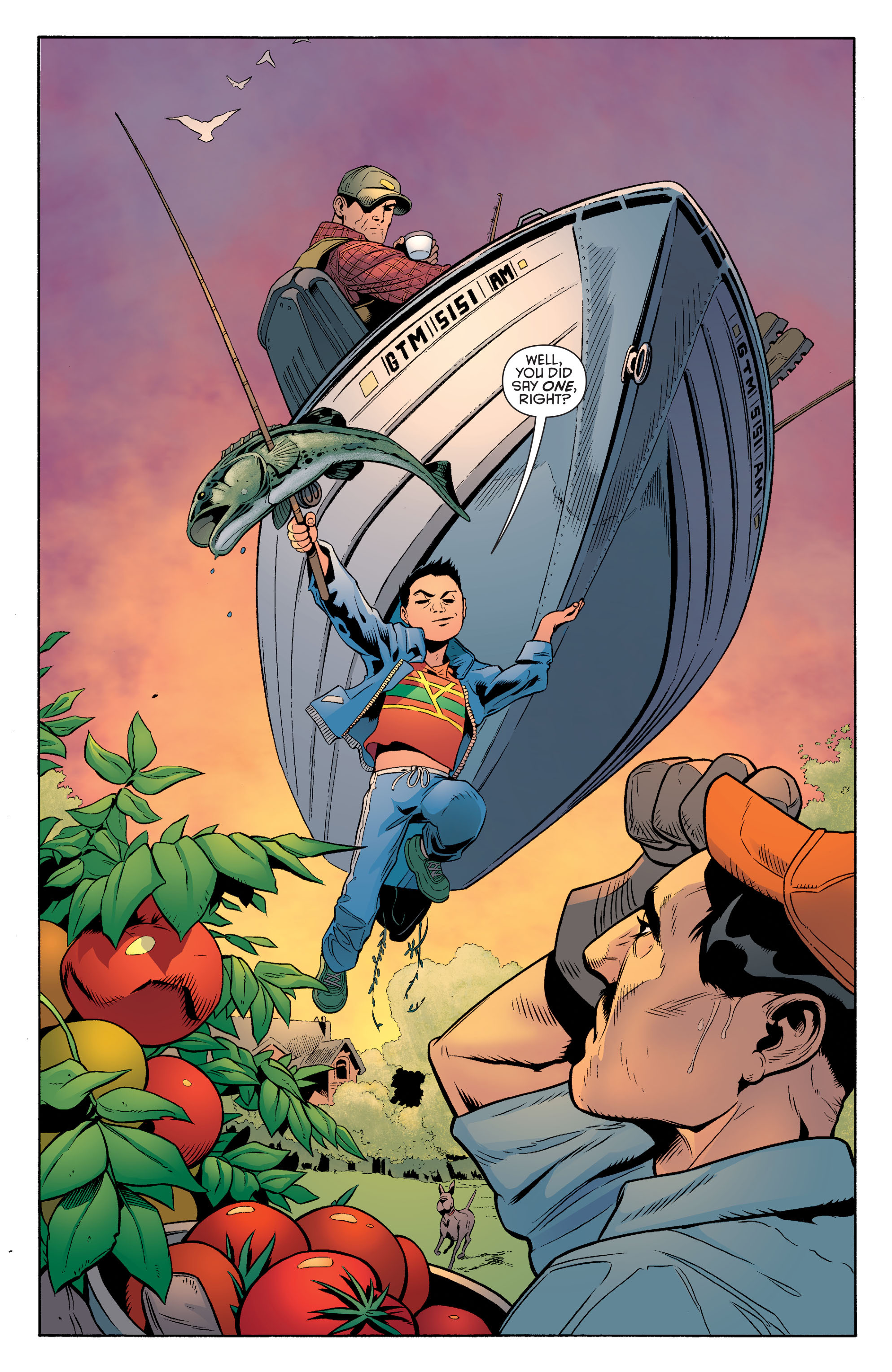Read online Batman and Robin (2011) comic -  Issue #39 - 10