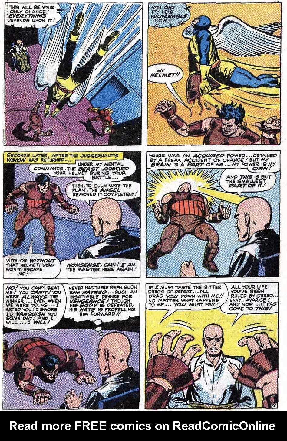 Read online Uncanny X-Men (1963) comic -  Issue #67 - 49