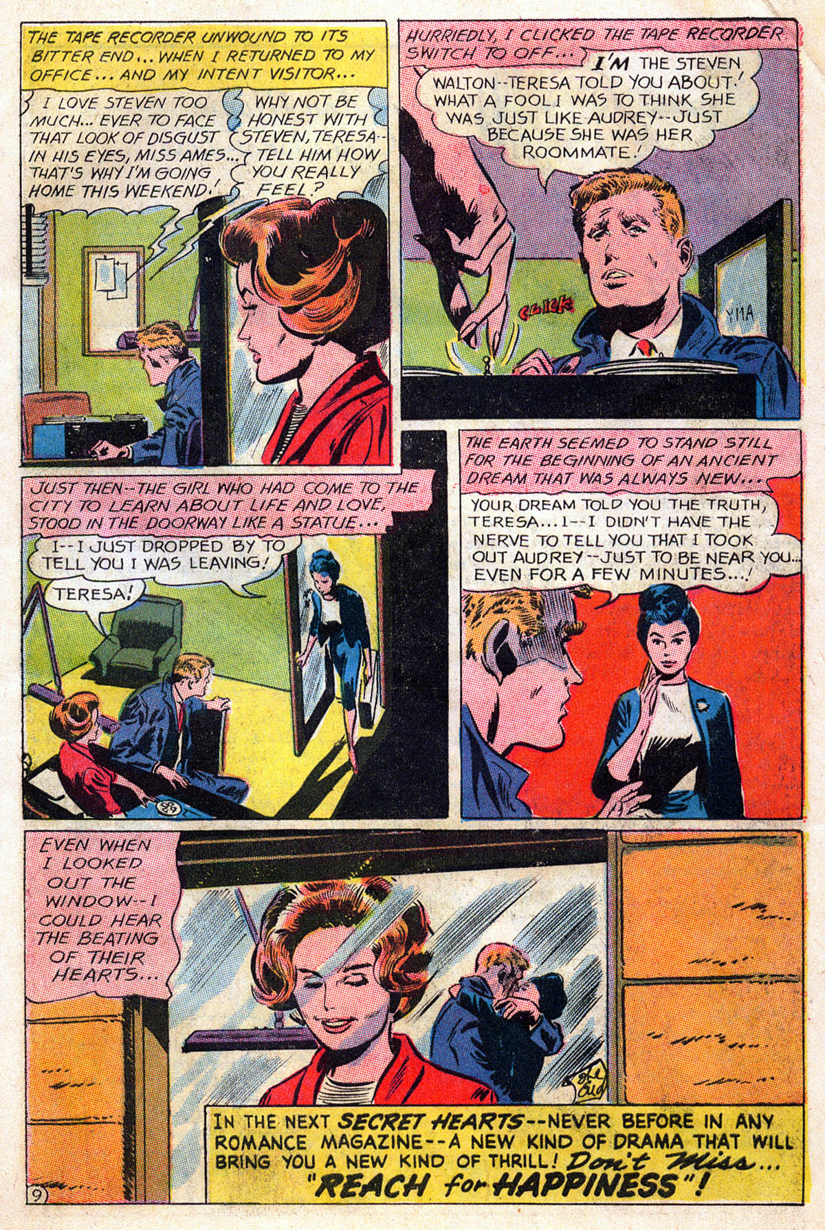 Read online Secret Hearts comic -  Issue #109 - 11