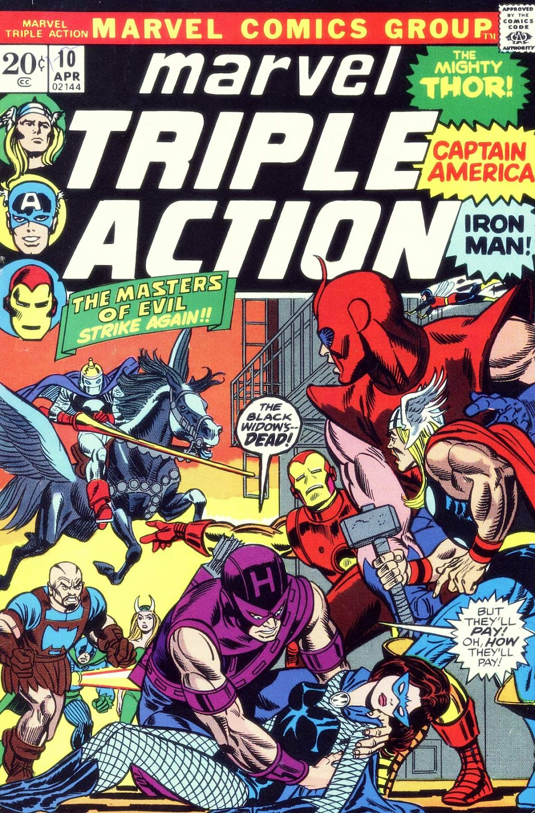 Marvel Triple Action (1972) issue 10 - Page 1