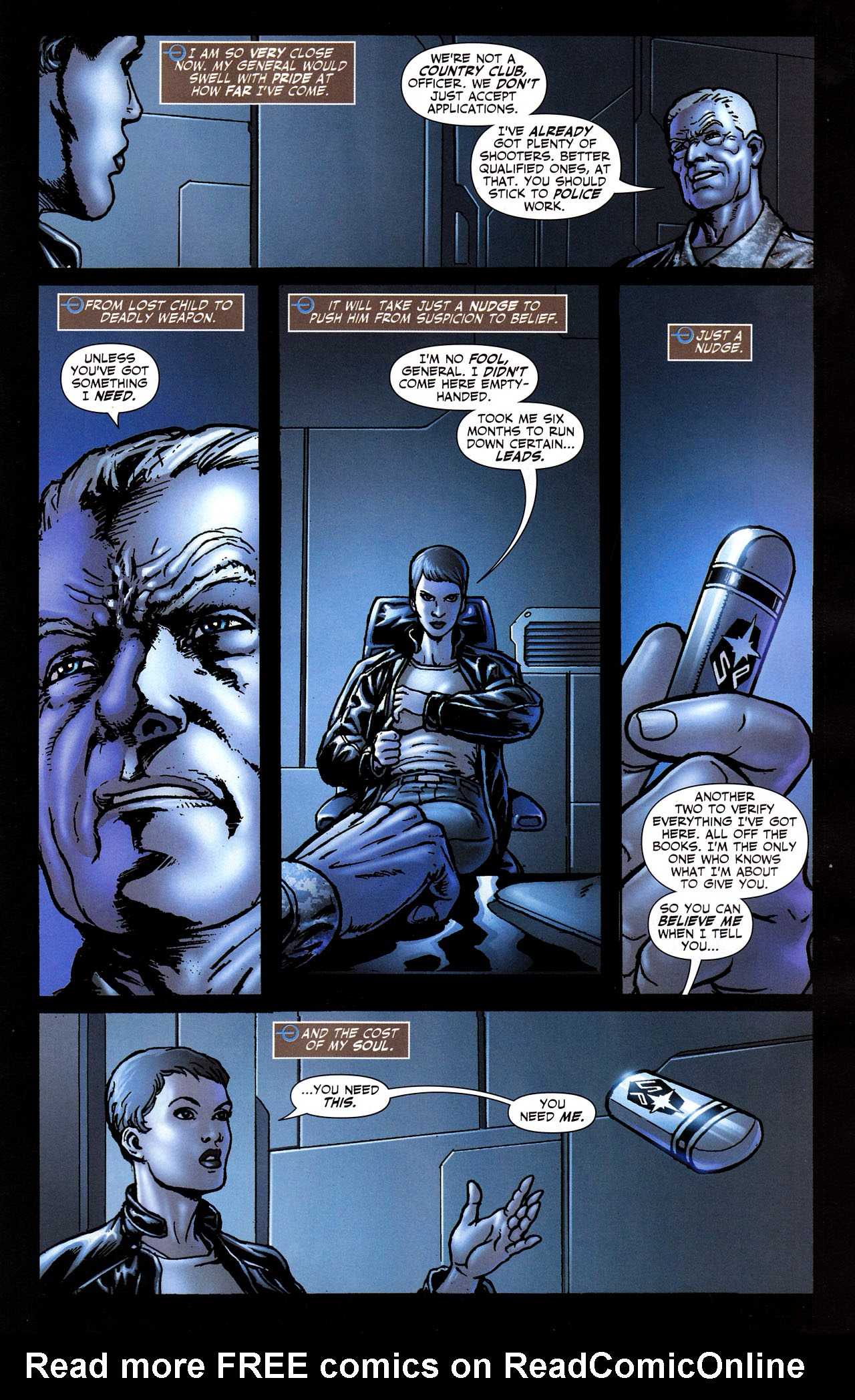 Read online Adventure Comics (2009) comic -  Issue #8 - 22