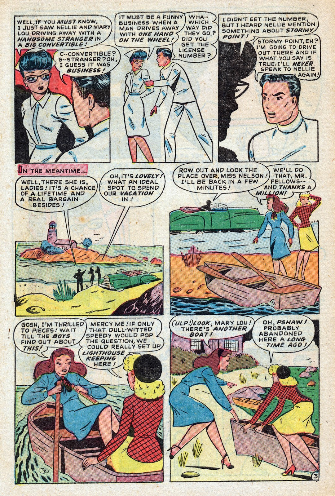 Read online Nellie The Nurse (1945) comic -  Issue #17 - 12
