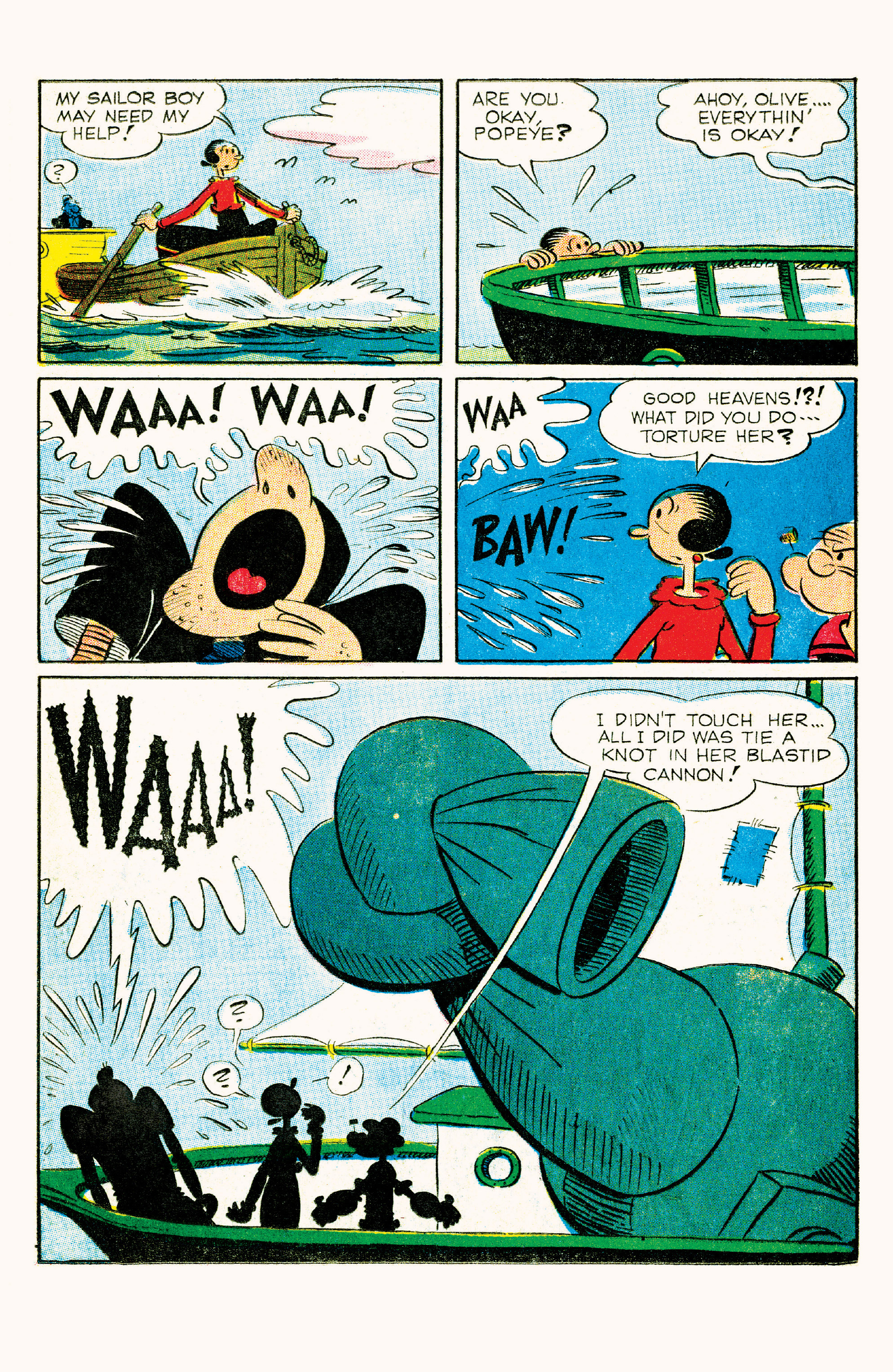 Read online Classic Popeye comic -  Issue #57 - 16