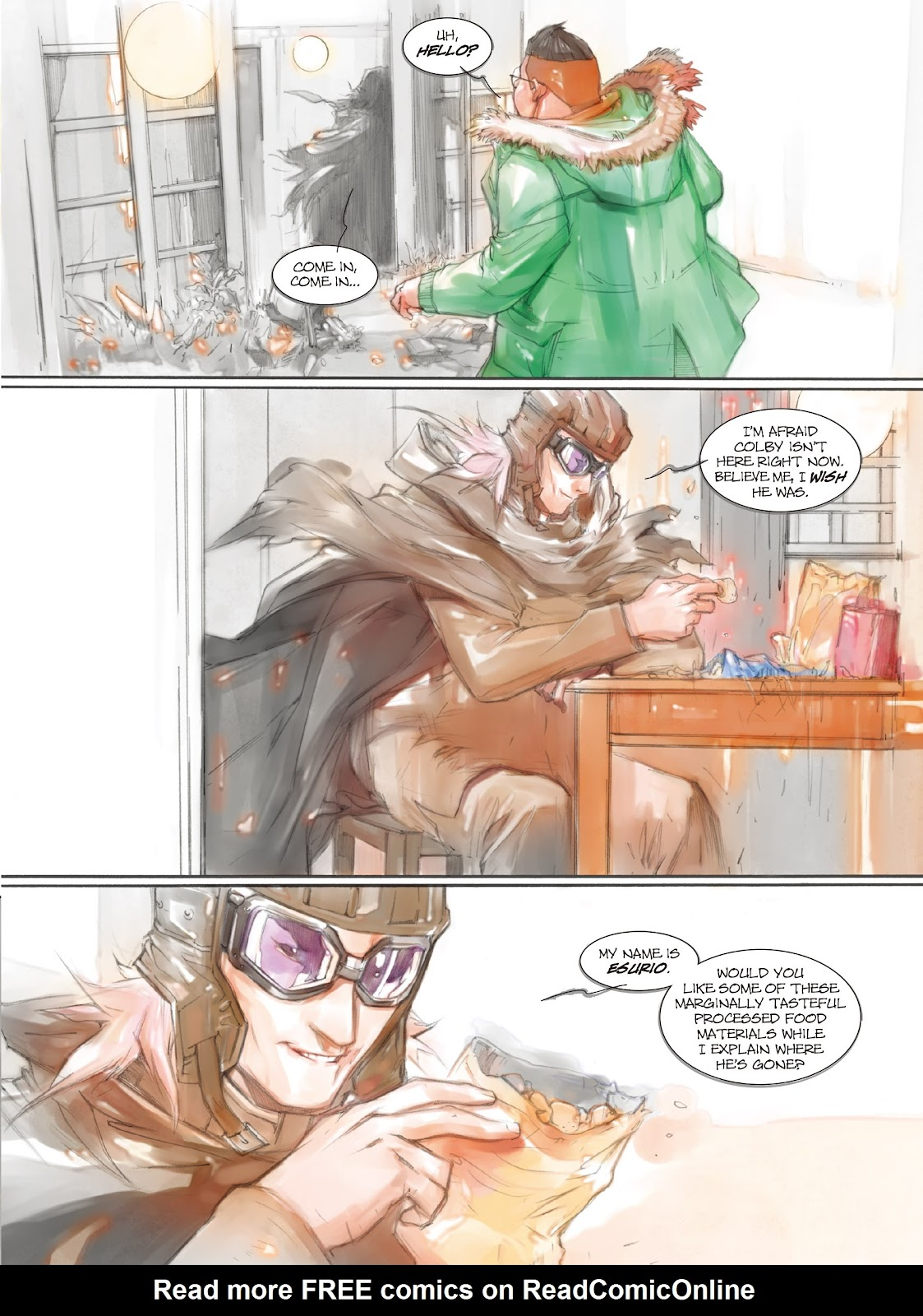 Read online Makeshift Miracle: The Girl From Nowhere comic -  Issue #7 - 8