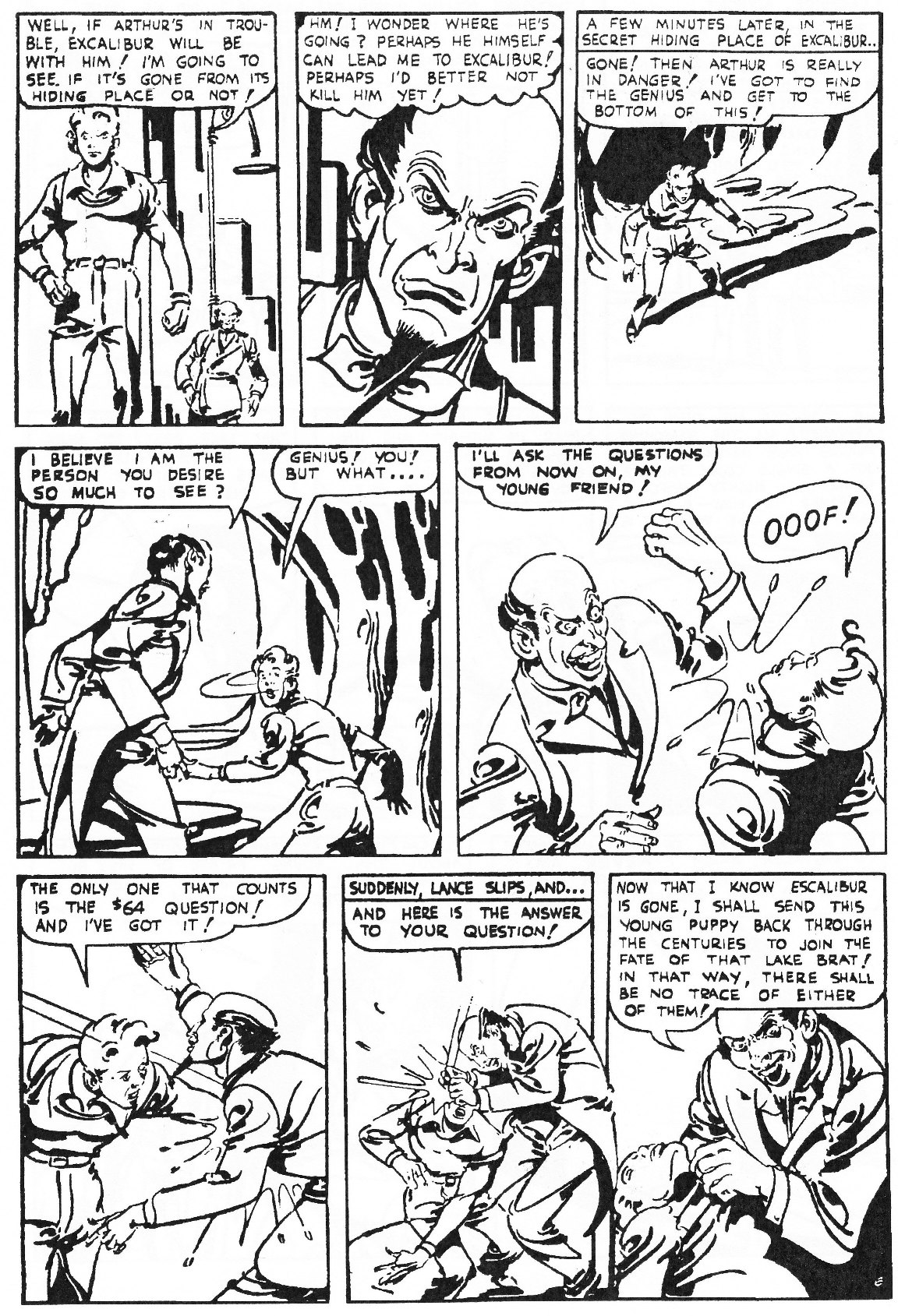 Read online Men of Mystery Comics comic -  Issue #81 - 136