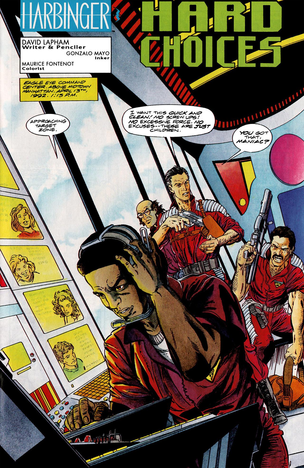 Read online Harbinger (1992) comic -  Issue #11 - 2