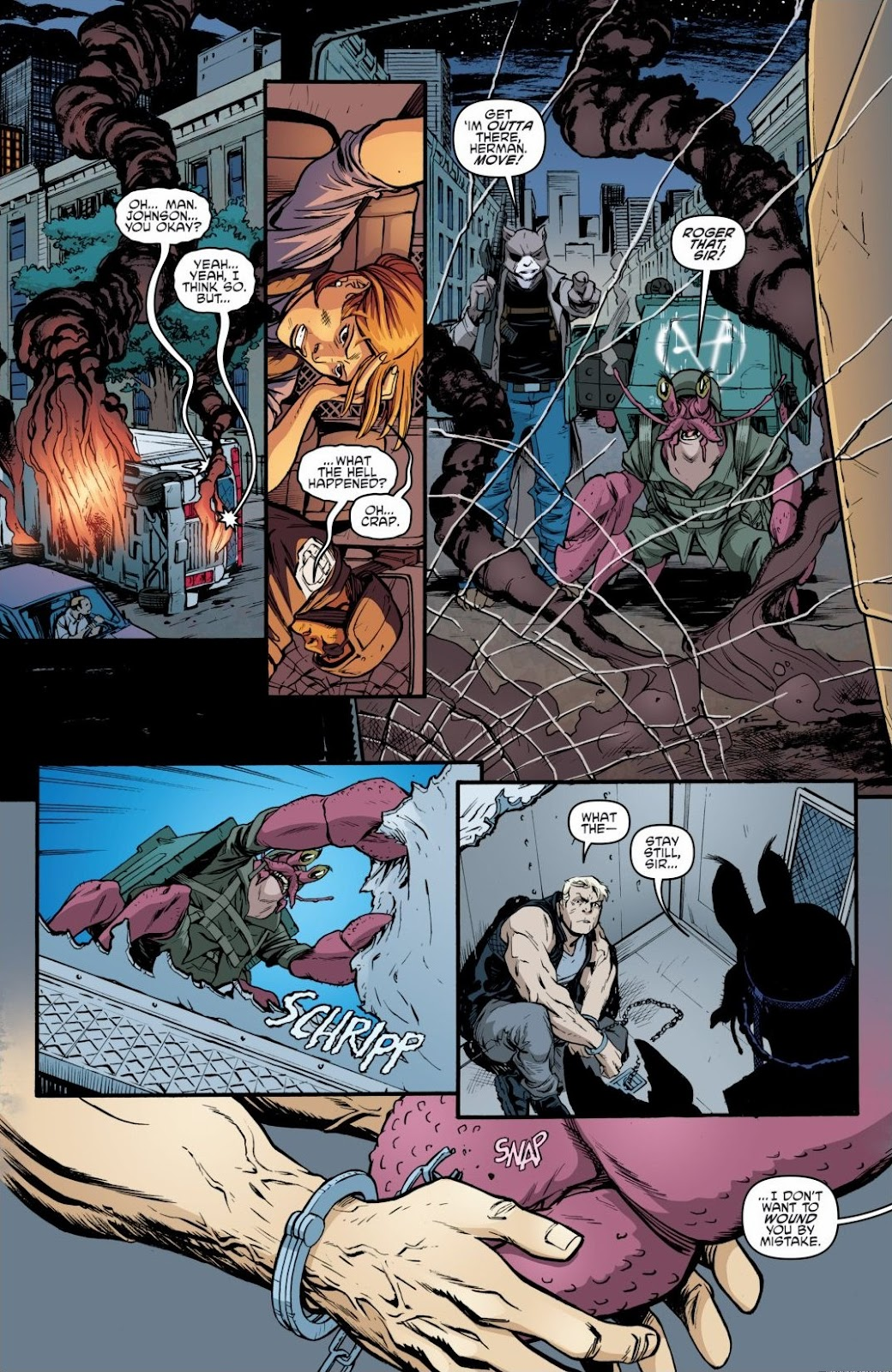 Read online Teenage Mutant Ninja Turtles: The IDW Collection comic -  Issue # TPB 6 (Part 3) - 1