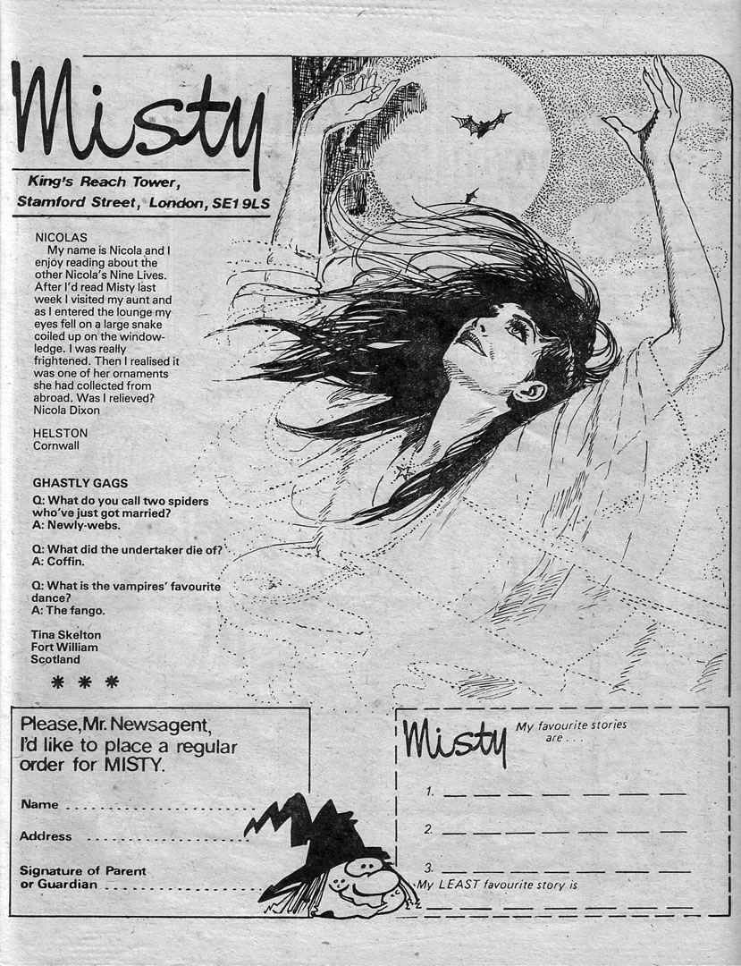 Read online Misty comic -  Issue #66 - 27