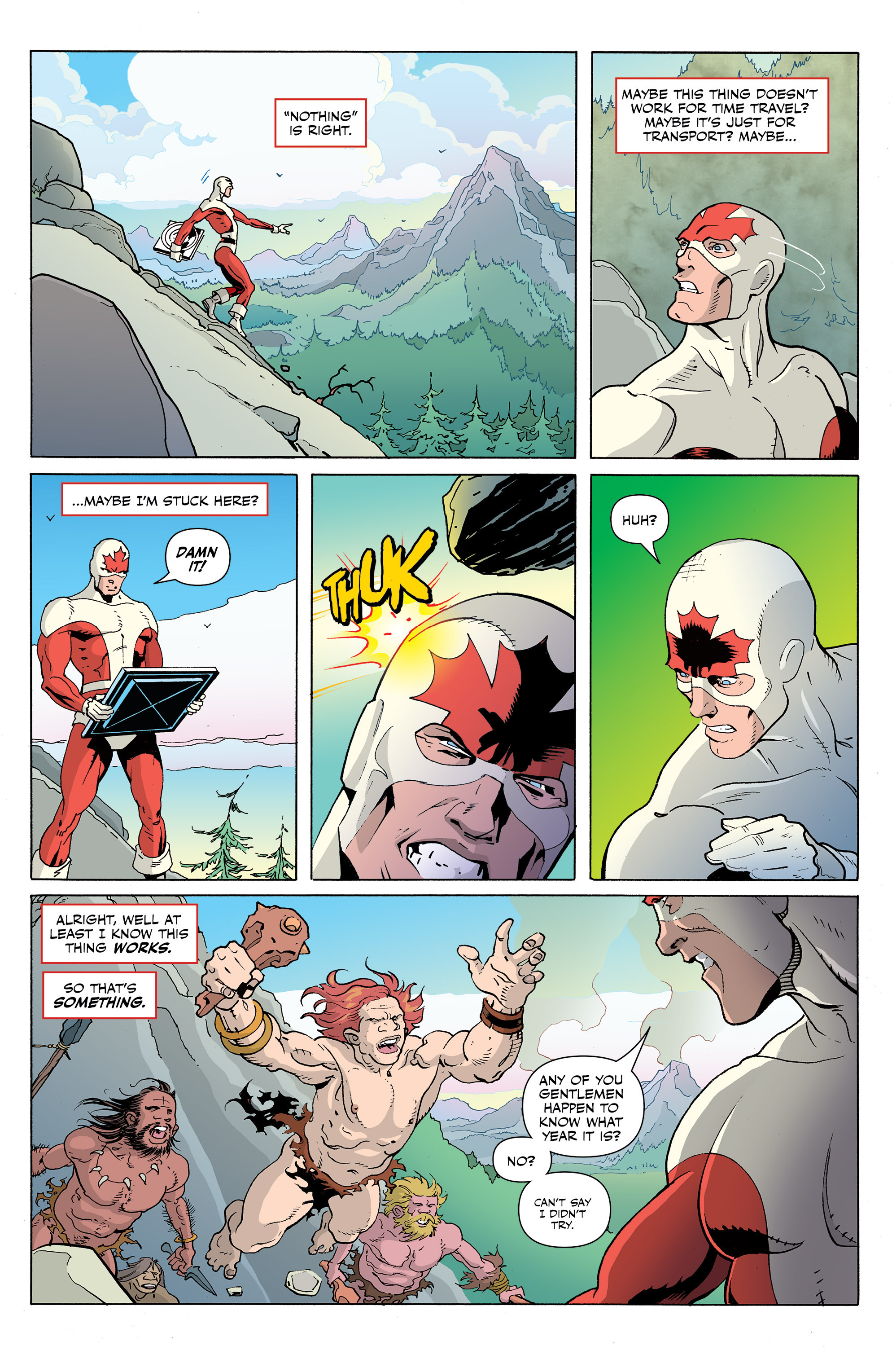 Read online All-New Classic Captain Canuck comic -  Issue #1 - 6