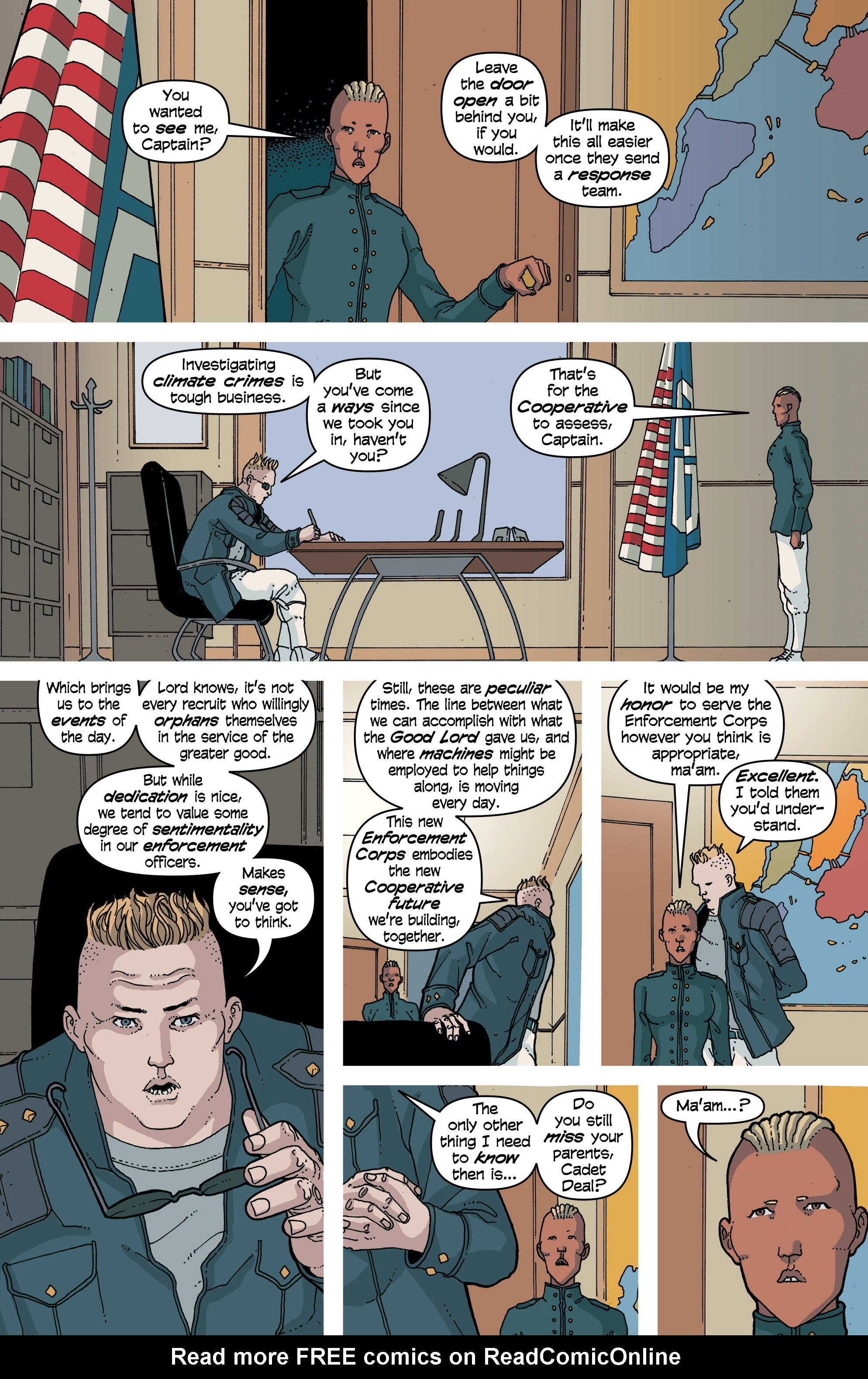 Read online Snowfall comic -  Issue #7 - 19