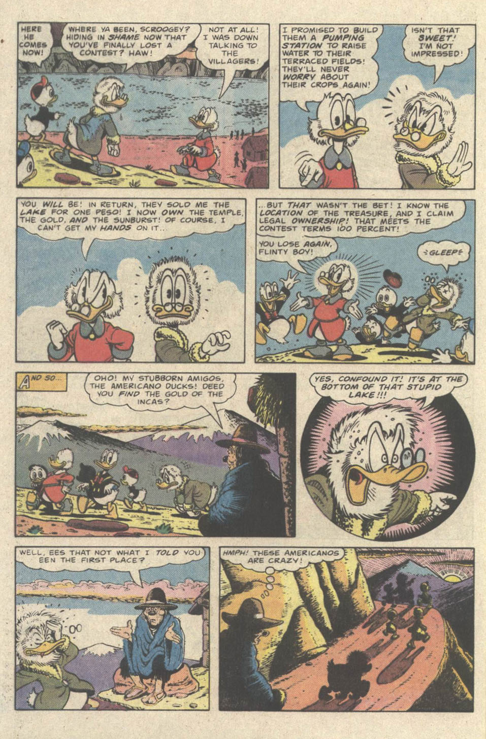 Read online Uncle Scrooge (1953) comic -  Issue #219 - 32