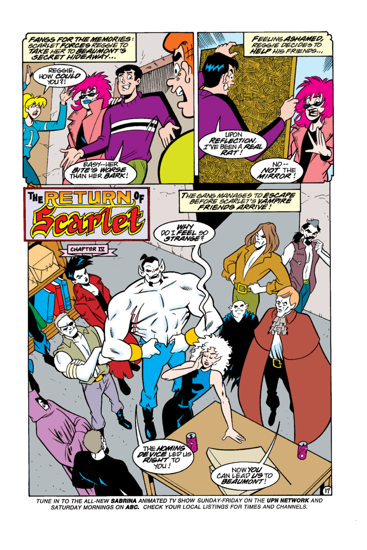 Read online Archie's Weird Mysteries comic -  Issue #12 - 19
