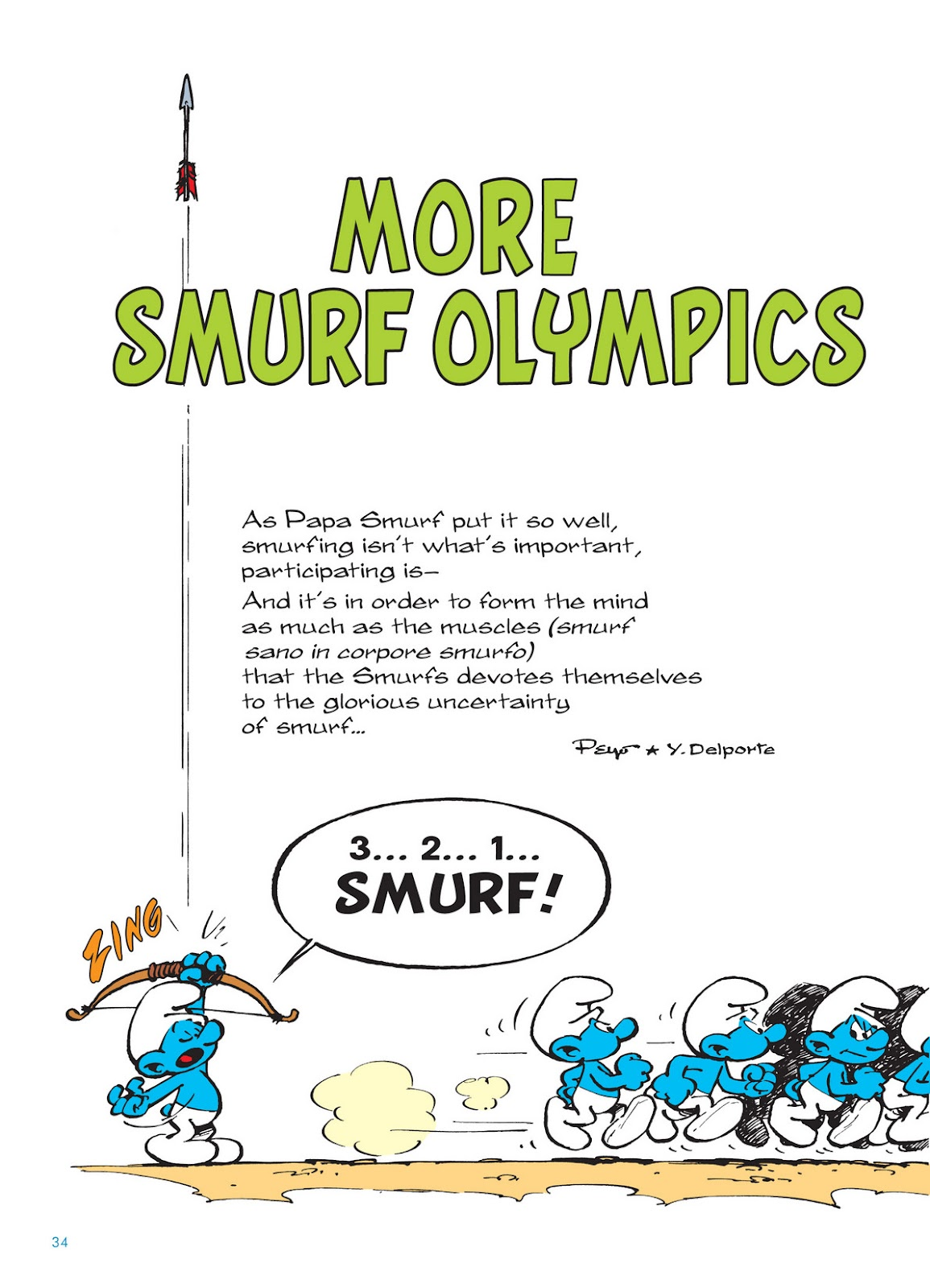 Read online The Smurfs comic -  Issue #11 - 34