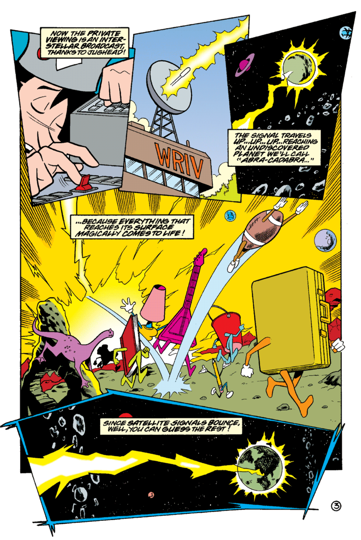 Read online Archie's Weird Mysteries comic -  Issue #15 - 5