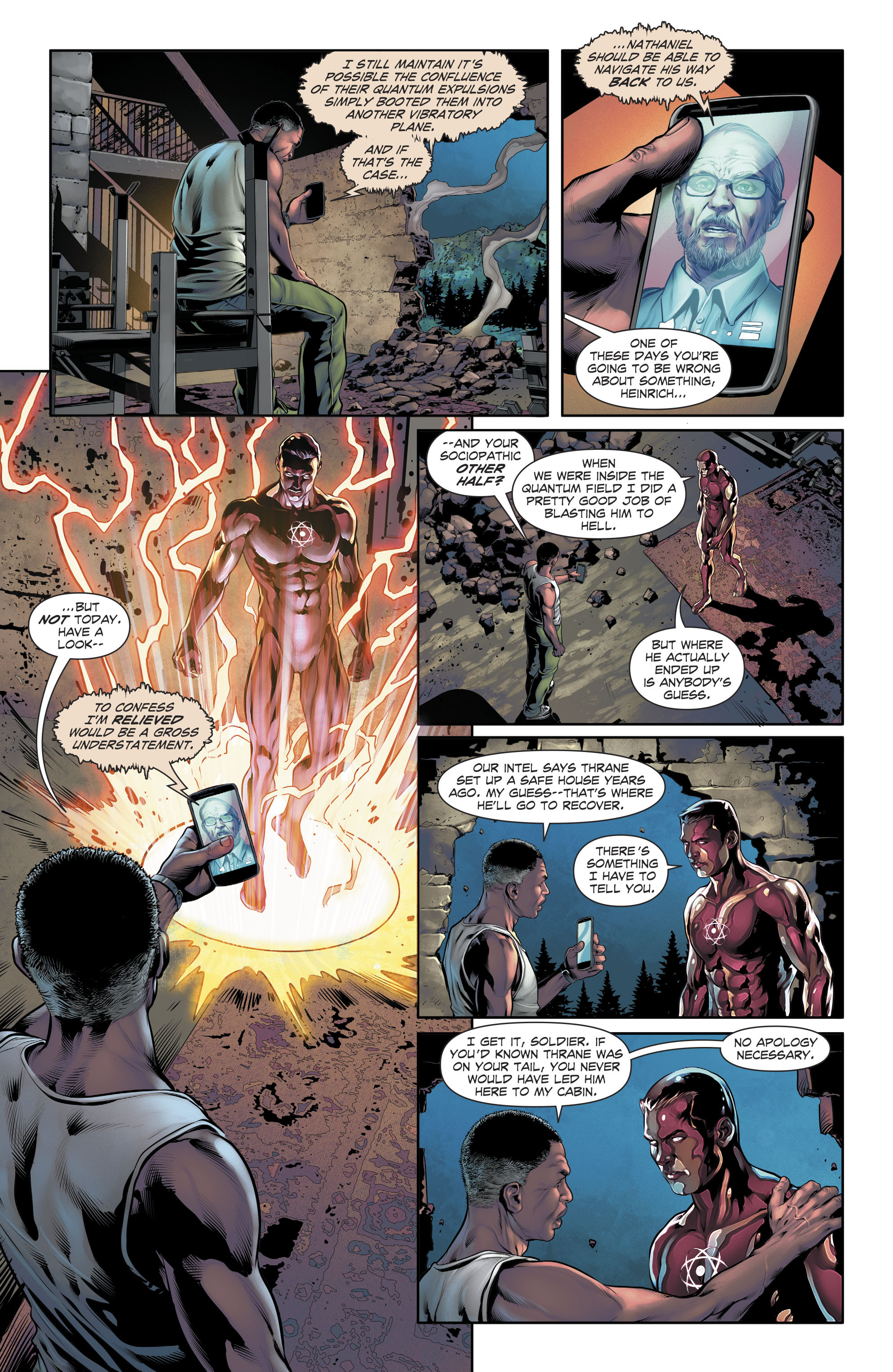 Read online The Fall and Rise of Captain Atom comic -  Issue #5 - 21