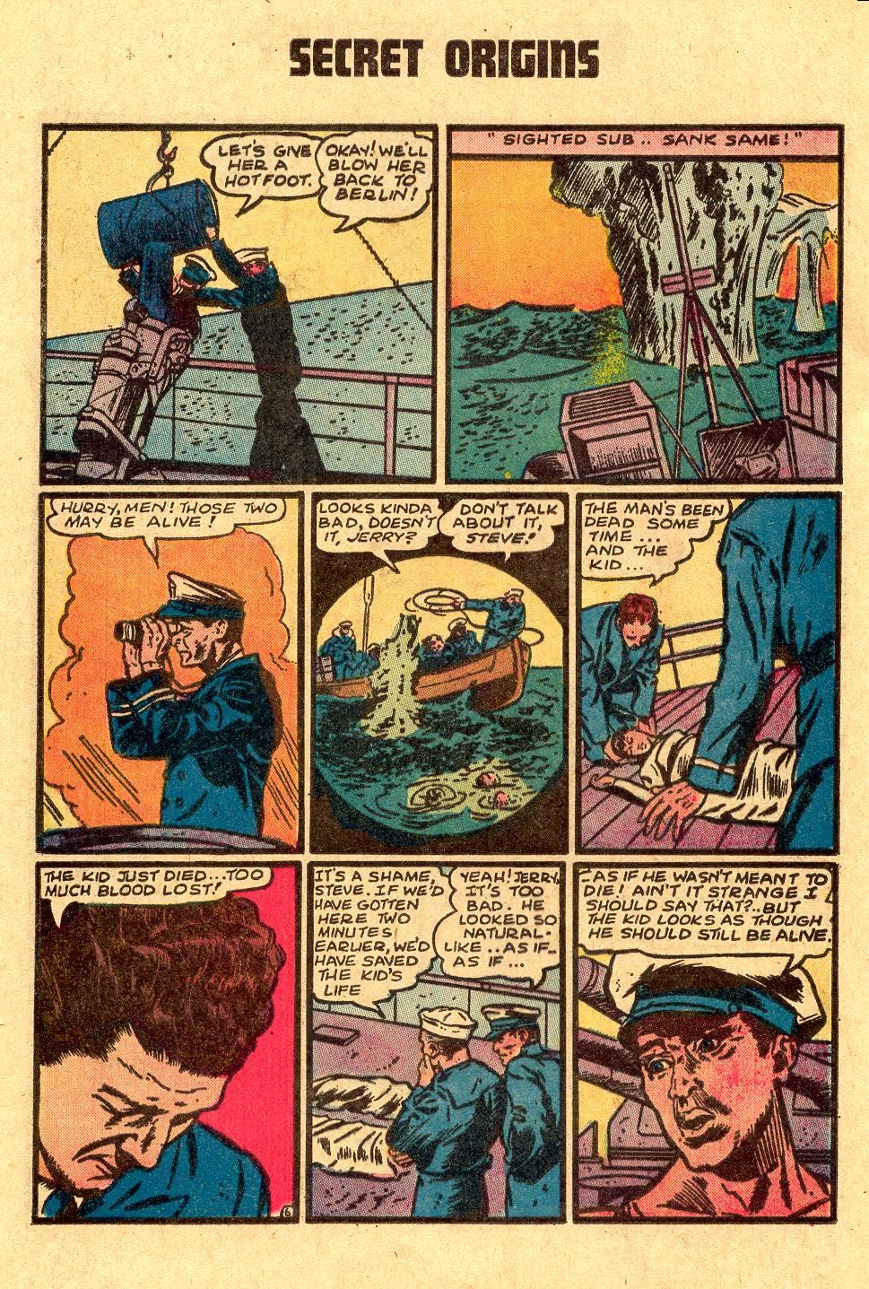 Read online Secret Origins (1973) comic -  Issue #4 - 20