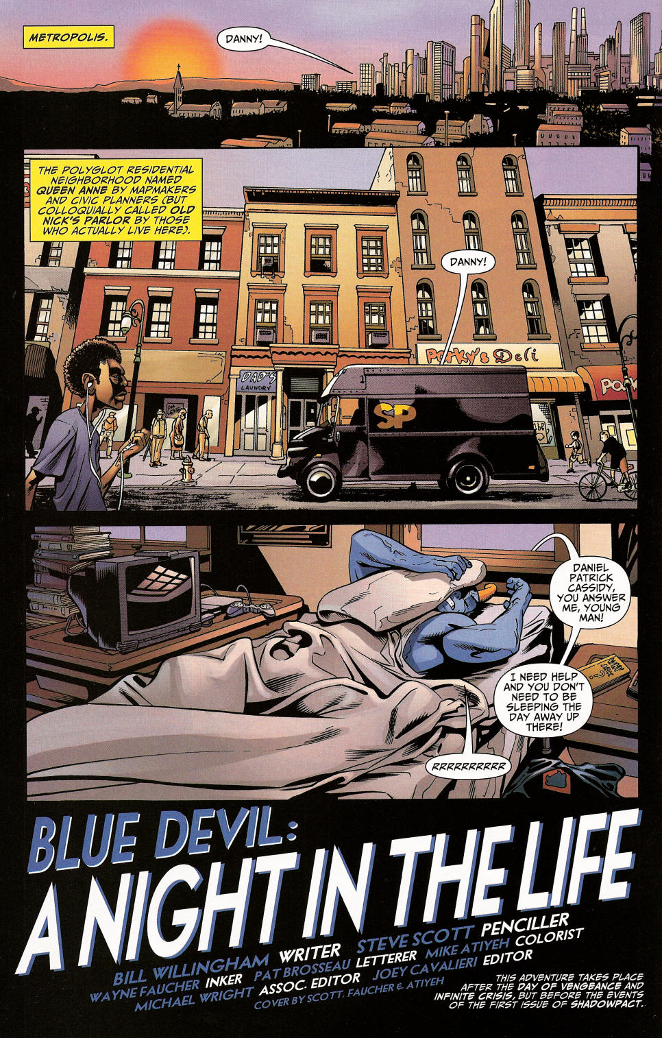 Read online Shadowpact comic -  Issue #4 - 4