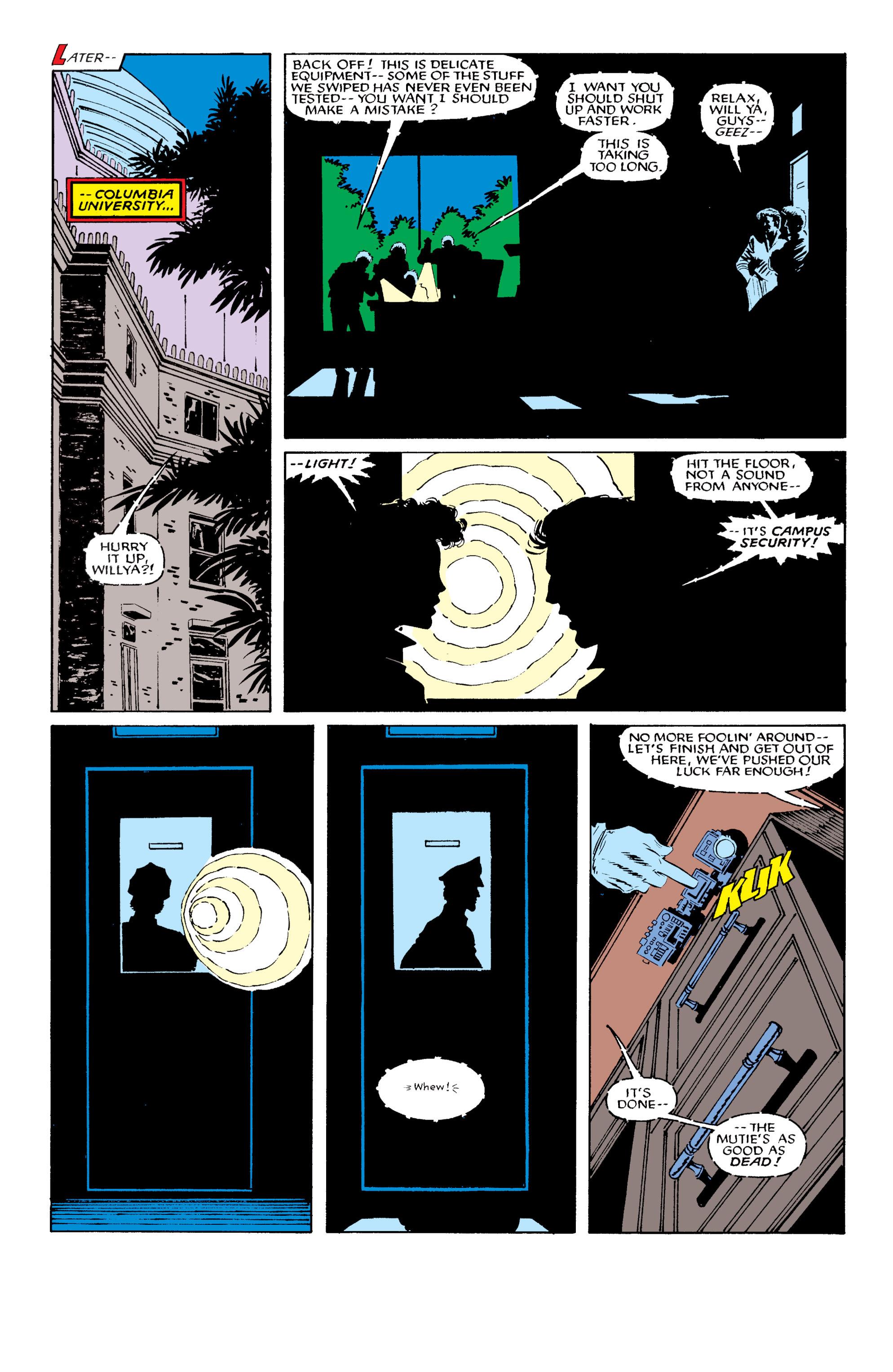 Read online Uncanny X-Men (1963) comic -  Issue #196 - 10