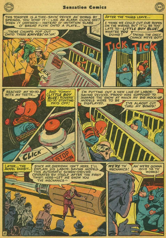 Read online Sensation (Mystery) Comics comic -  Issue #80 - 19