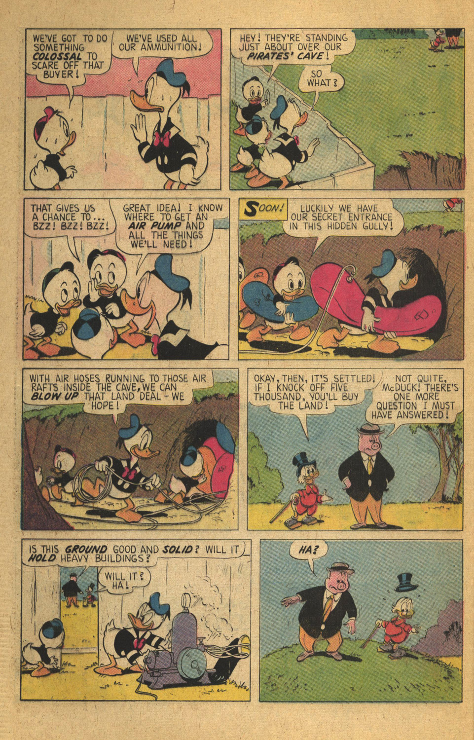 Read online Uncle Scrooge (1953) comic -  Issue #136 - 32