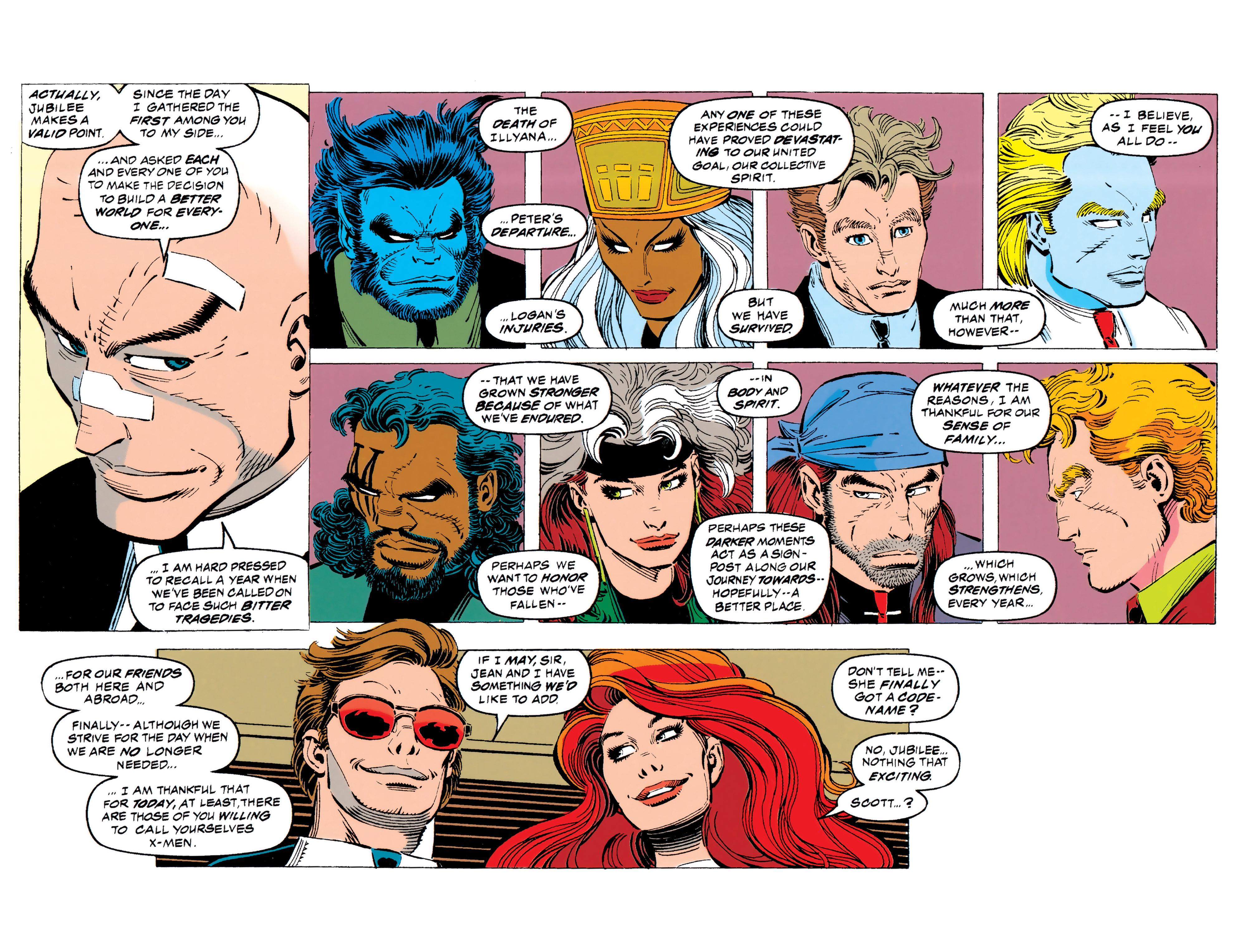 Read online Uncanny X-Men (1963) comic -  Issue #308 - 19
