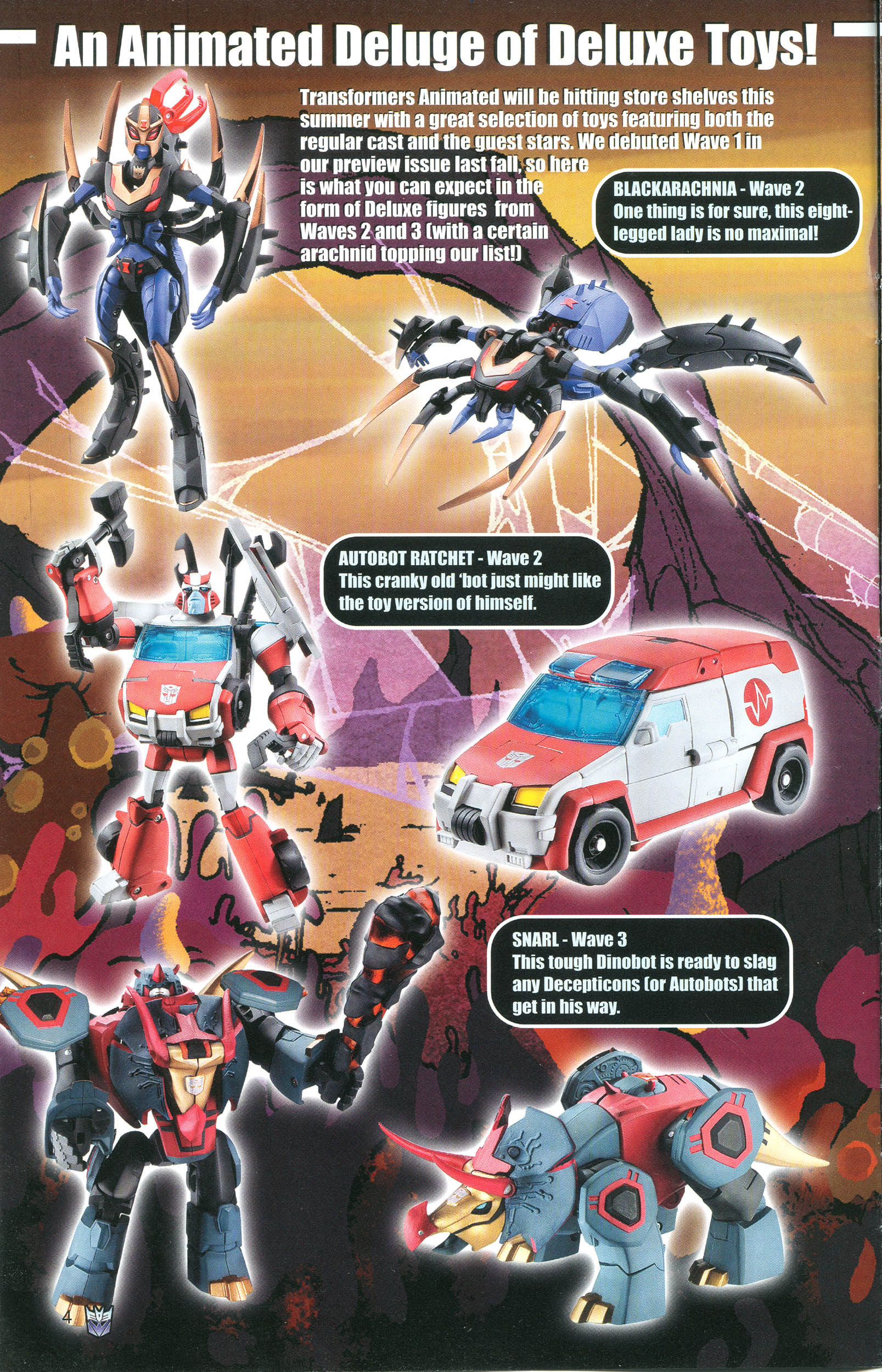 Read online Transformers: Collectors' Club comic -  Issue #20 - 4