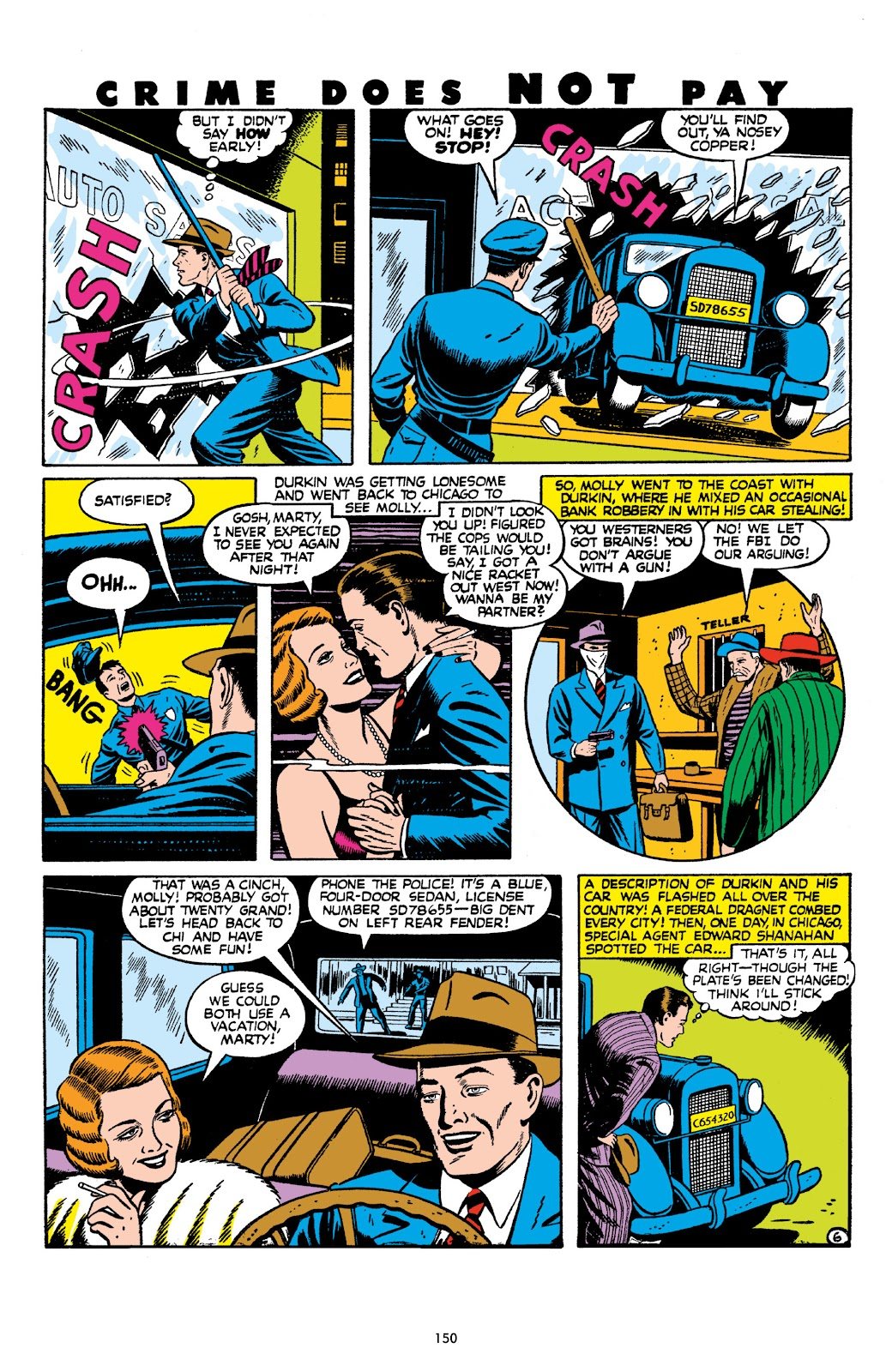 Read online Crime Does Not Pay Archives comic -  Issue # TPB 8 (Part 2) - 51