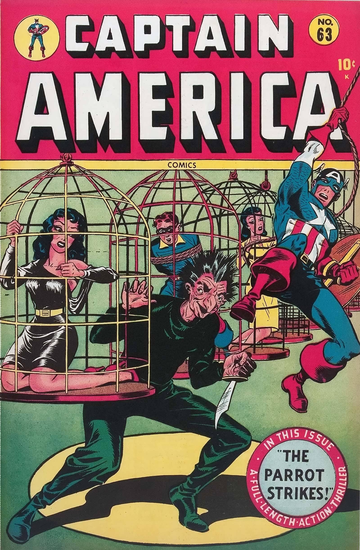 Captain America Comics 63 Page 1