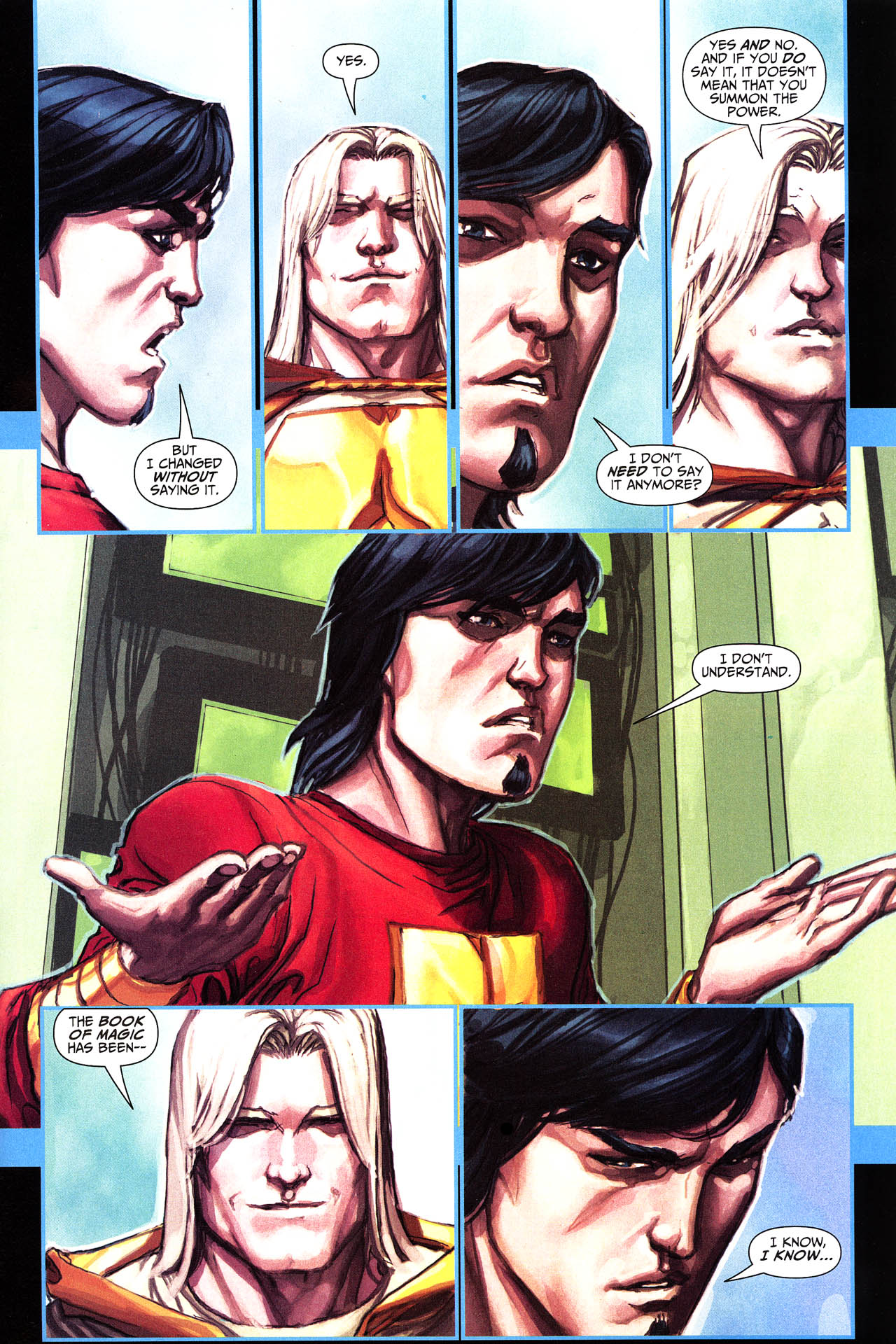 Read online Trials of Shazam comic -  Issue #6 - 2