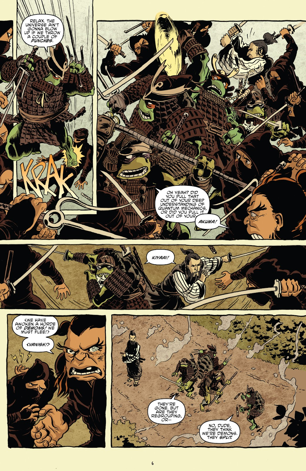 Read online Teenage Mutant Ninja Turtles: The IDW Collection comic -  Issue # TPB 5 (Part 1) - 36
