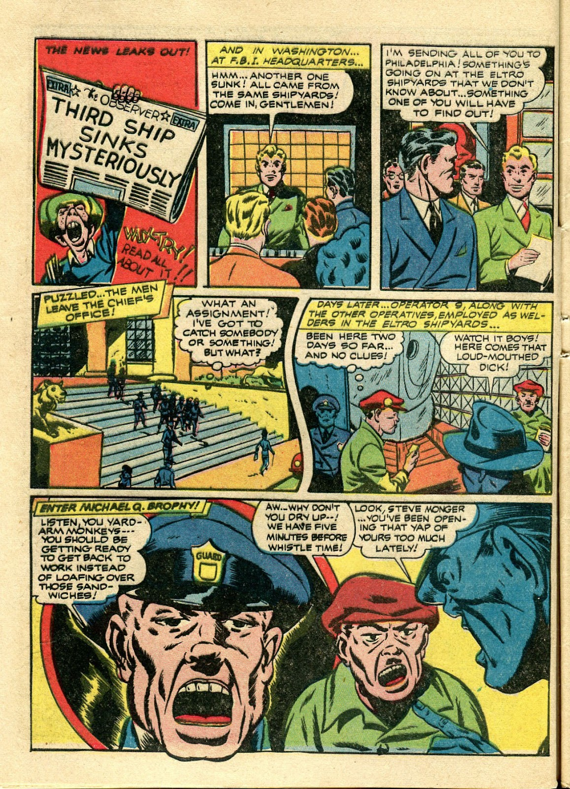 Green Hornet Comics issue 11 - Page 5