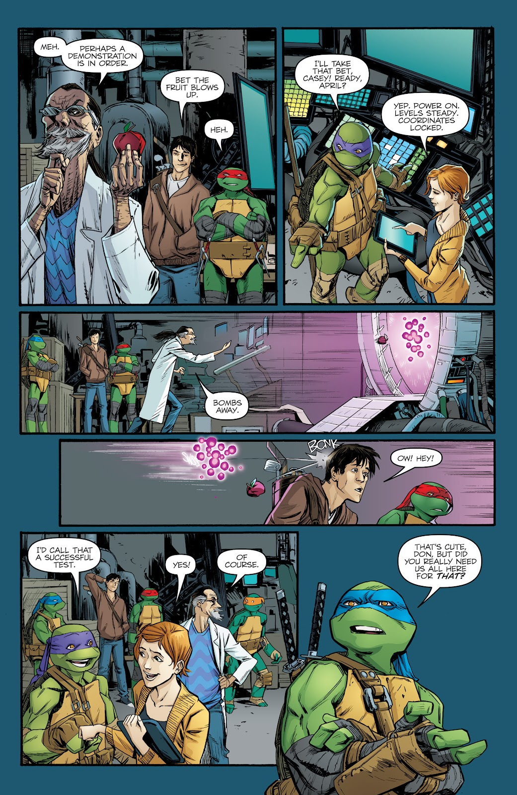 Read online Teenage Mutant Ninja Turtles: The IDW Collection comic -  Issue # TPB 5 (Part 2) - 78