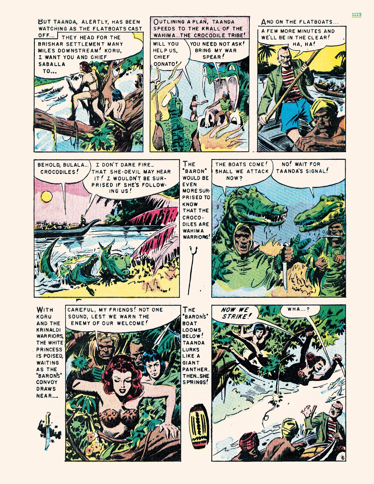 Read online Jungle Girls comic -  Issue # TPB (Part 2) - 3