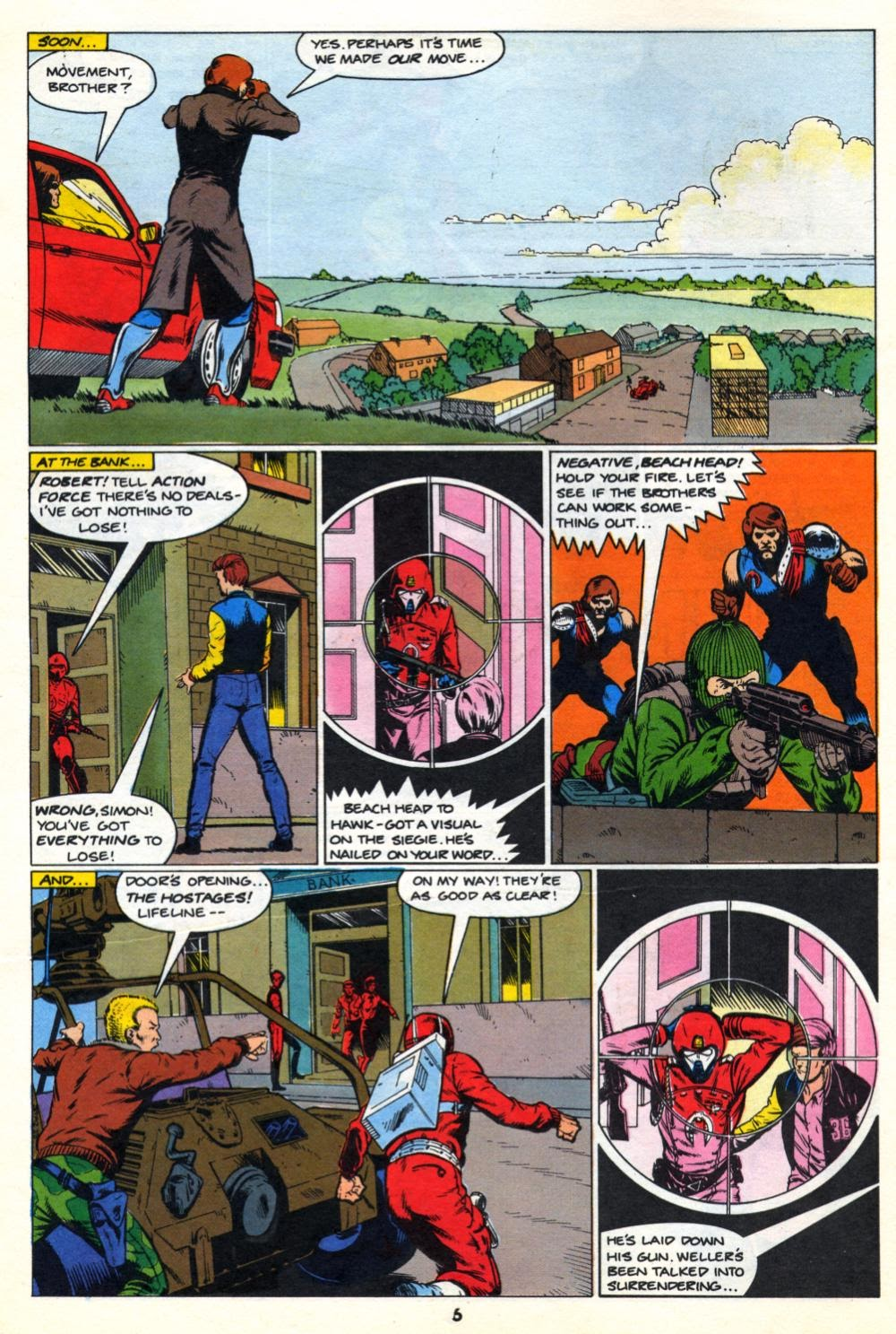 G.I. Joe European Missions issue 10 - Page 6