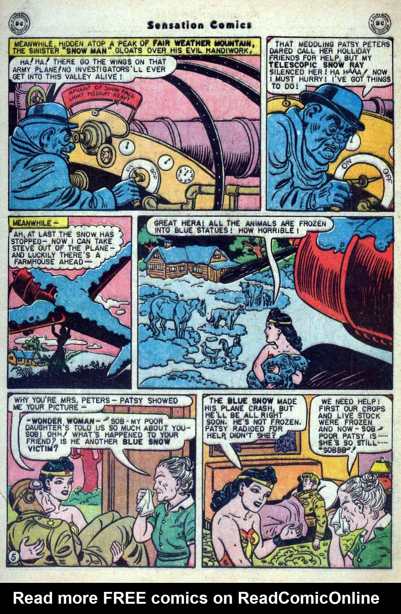 Read online Sensation (Mystery) Comics comic -  Issue #59 - 7
