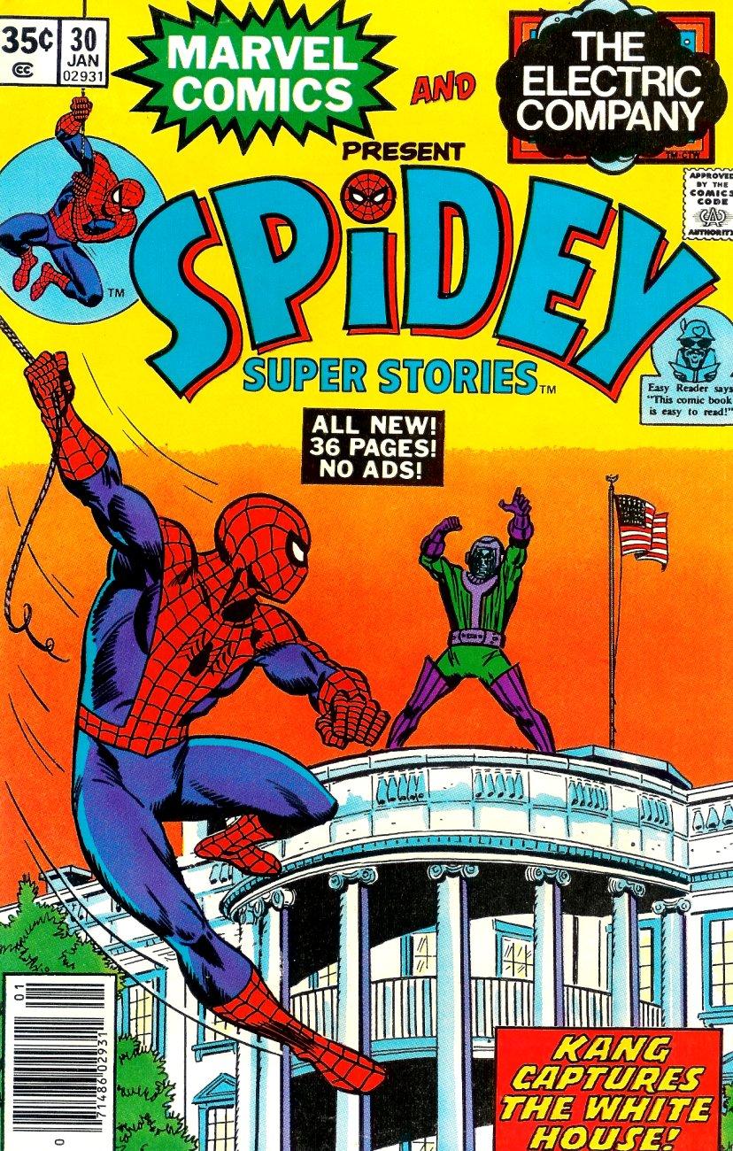 Spidey Super Stories 30 Page 1