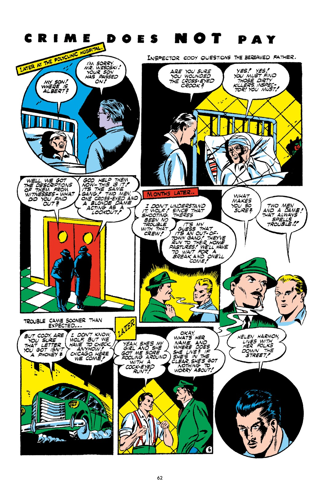 Read online Crime Does Not Pay Archives comic -  Issue # TPB 2 (Part 1) - 62