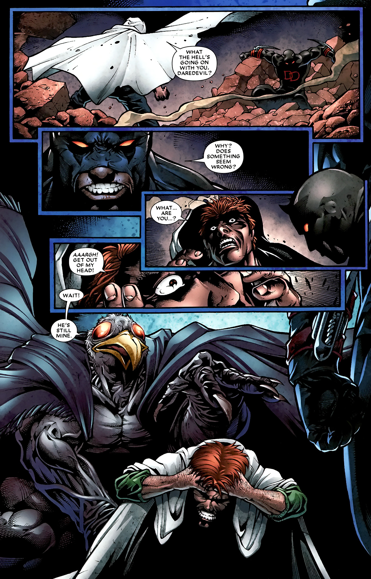 Read online Shadowland: Moon Knight comic -  Issue #2 - 8