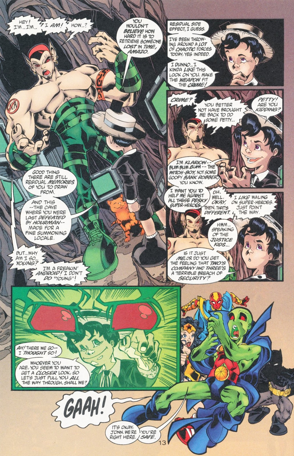 Sins of Youth issue JLA Jr. - Page 20