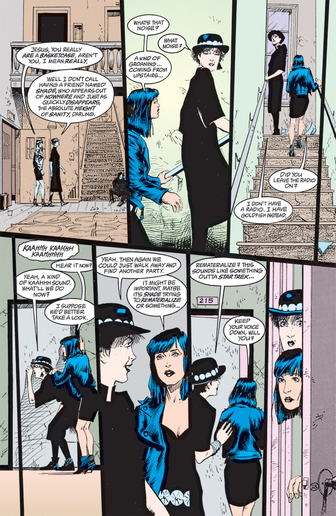 Read online Shade, the Changing Man comic -  Issue #8 - 20
