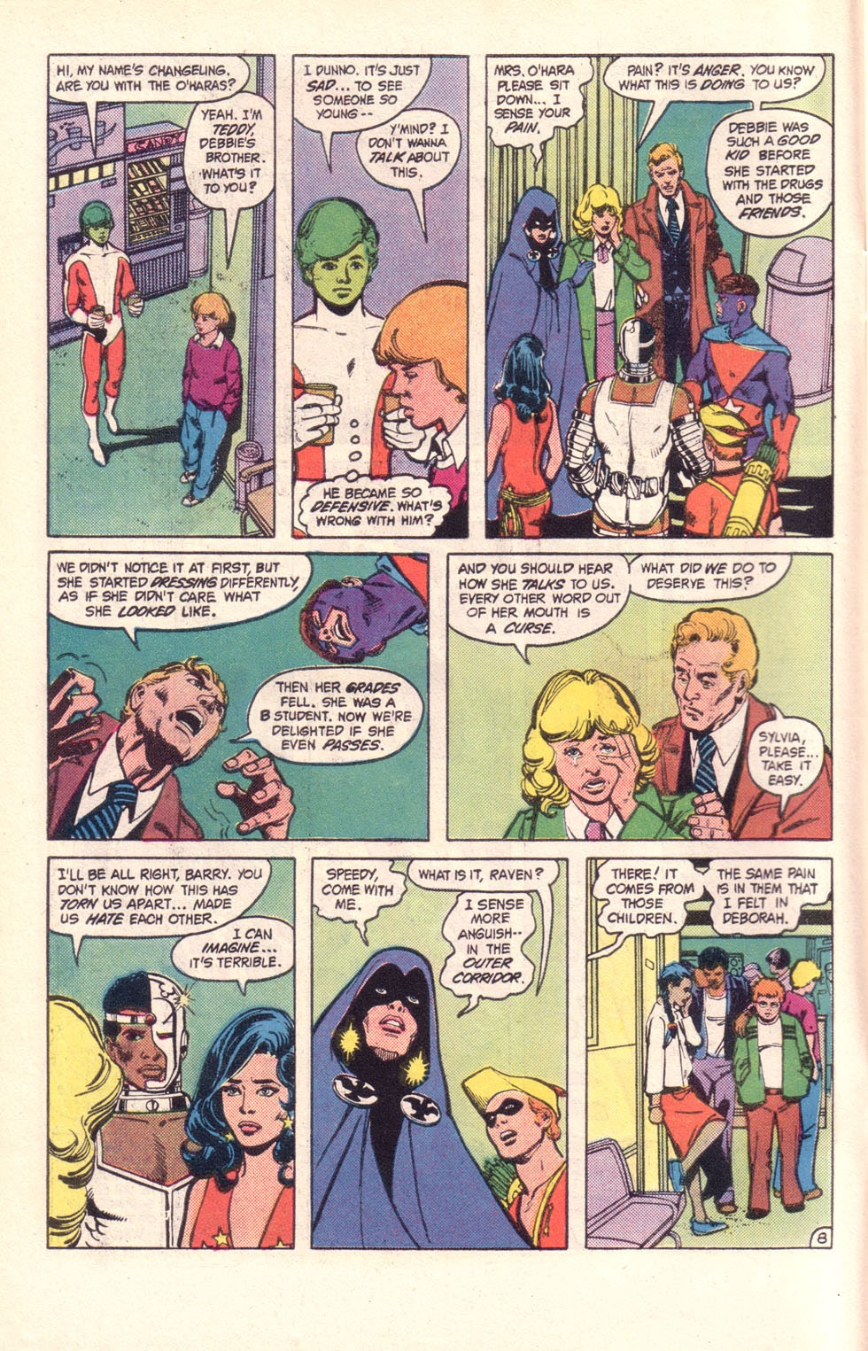 Read online The New Teen Titans (Drug Awareness Specials) comic -  Issue #2 - 10