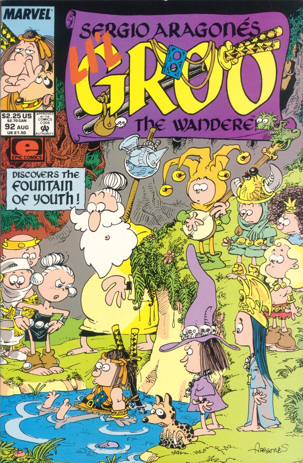 Read online Sergio Aragonés Groo the Wanderer comic -  Issue #92 - 1