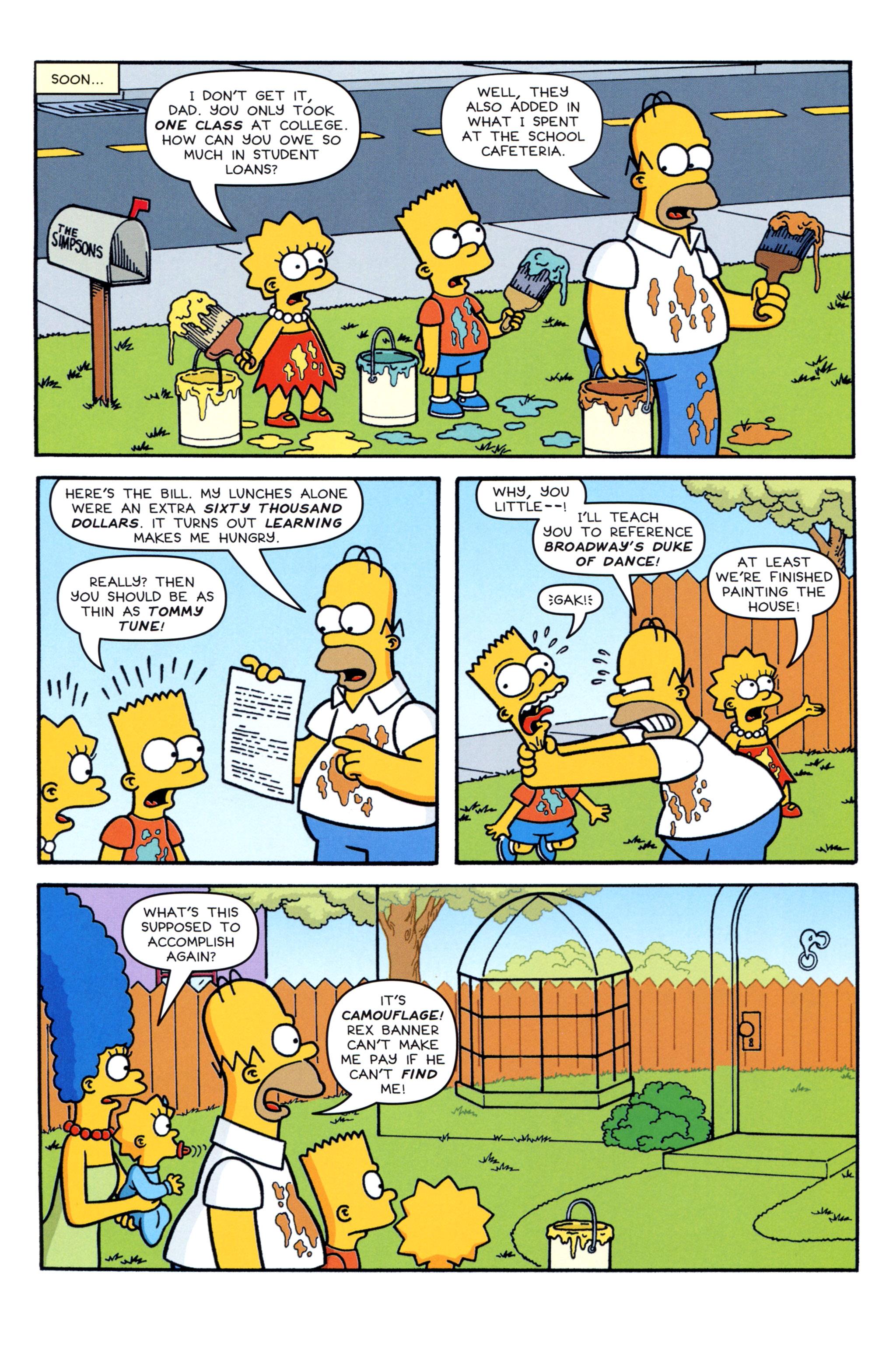 Read online Simpsons Comics comic -  Issue #213 - 7