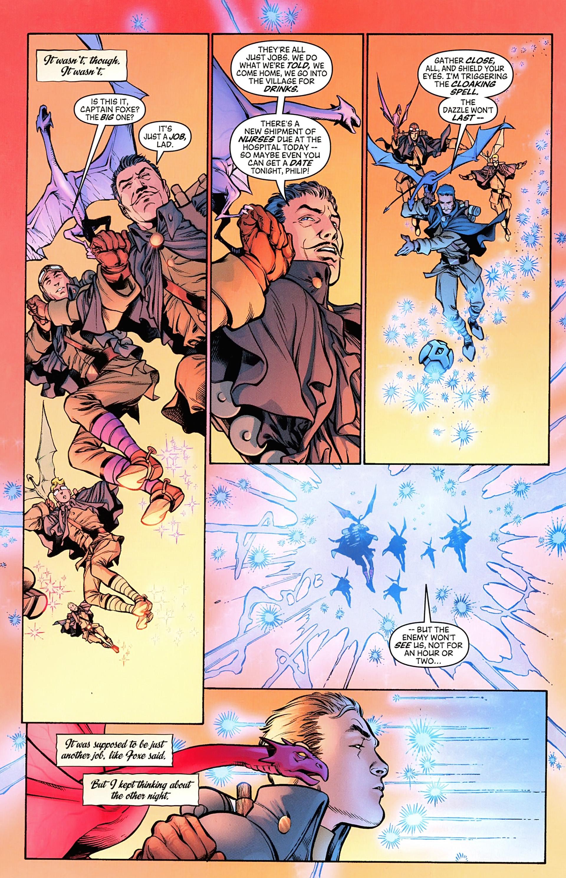 Read online Arrowsmith comic -  Issue #5 - 4